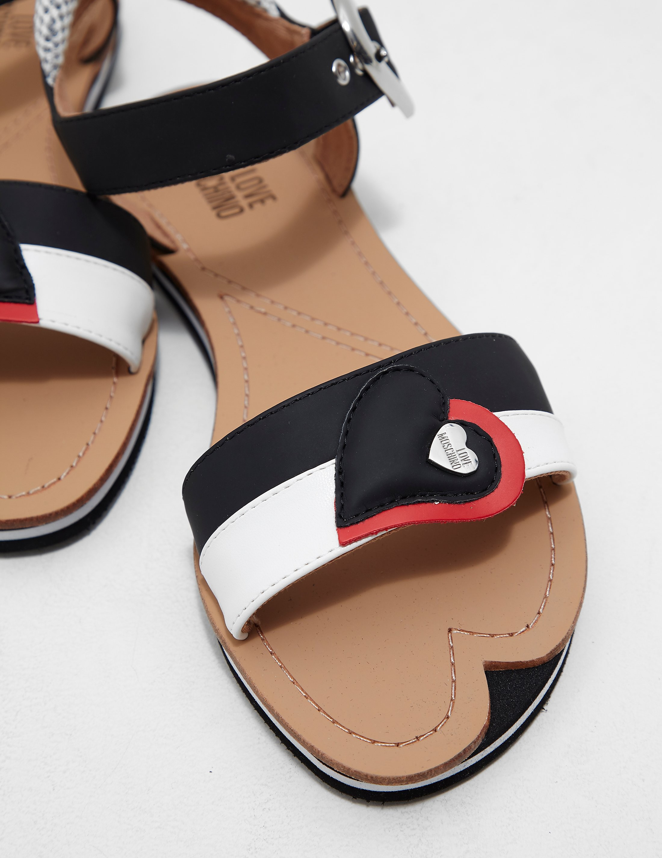 Love Moschino Heart Sandals