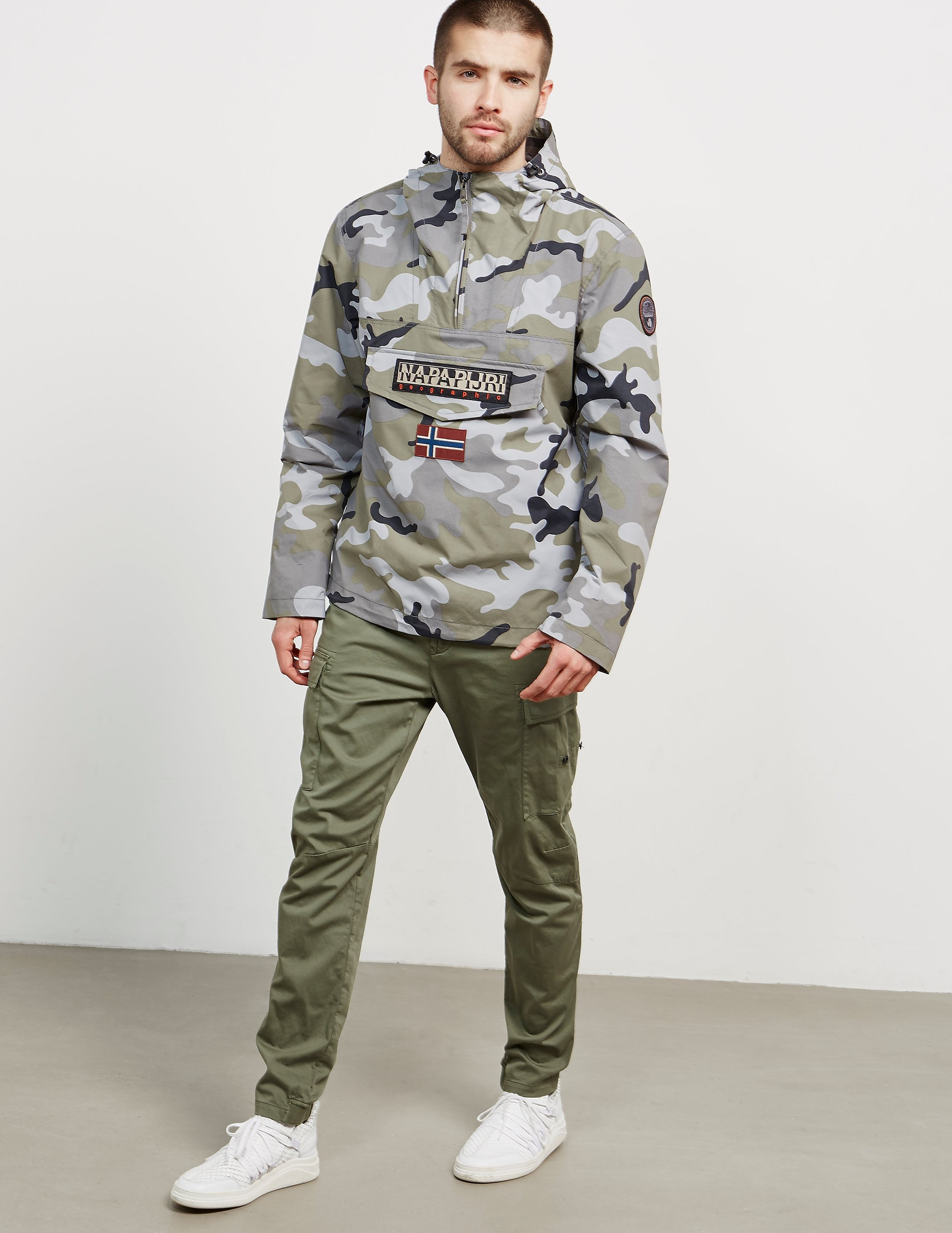 Napapijri Rainforest Summer Camo Jacket - Exclusive