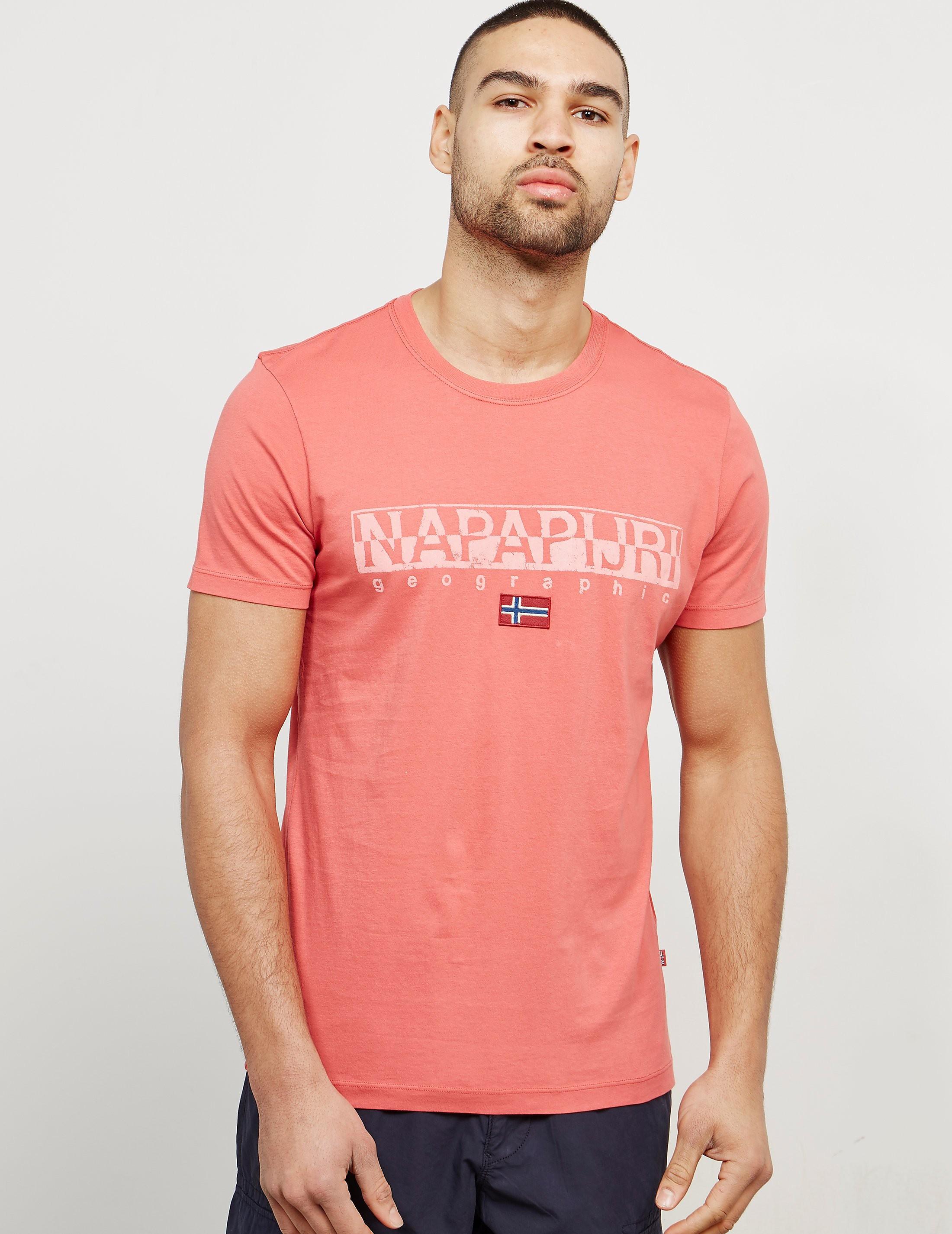 Napapijri Sapriol Core Short Sleeve T-Shirt - Exclusive
