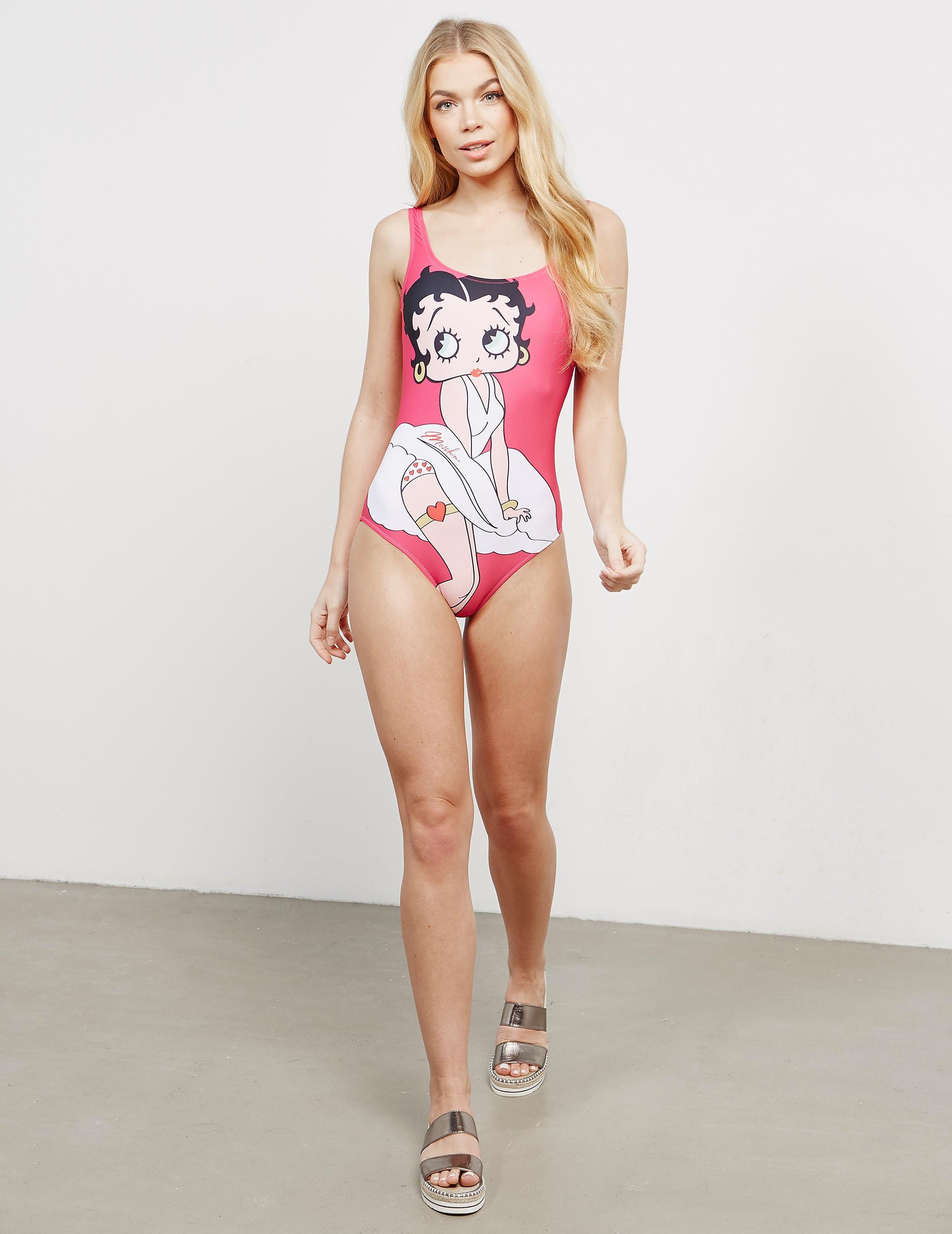Moschino Milano Betty Boop Swimsuit