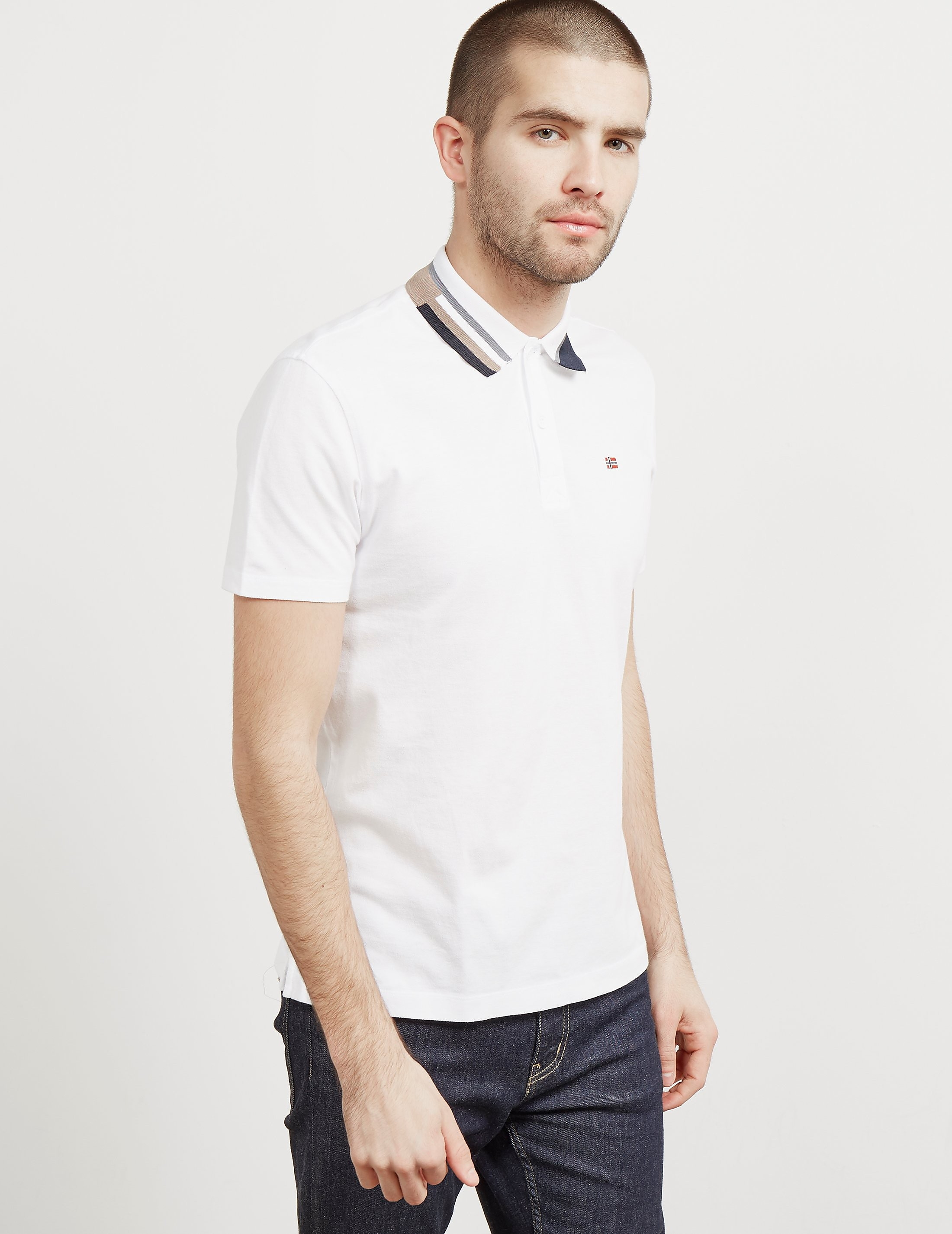 Napapijri Eqit Collar Short Sleeve Polo Shirt