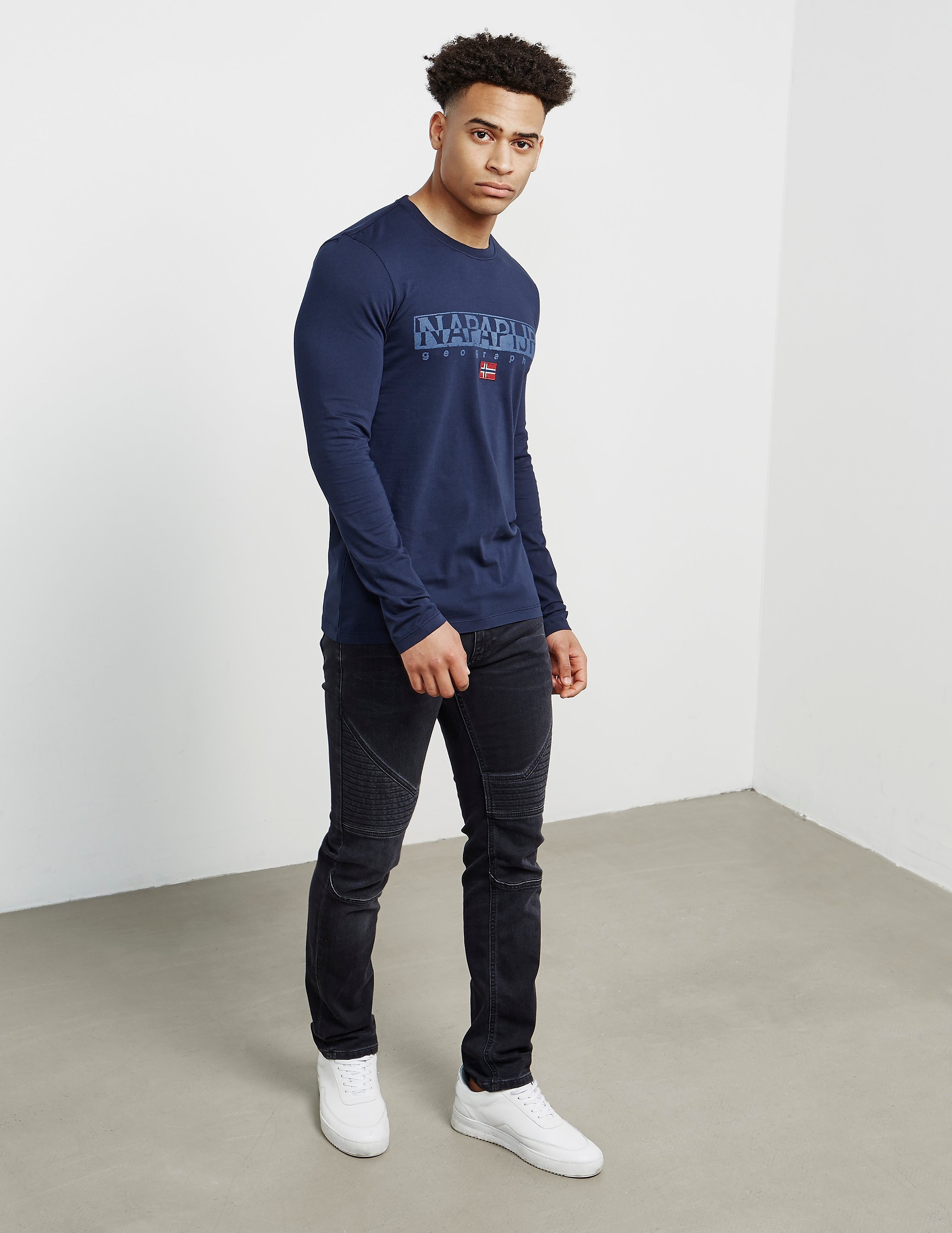 Napapijri Sapriol Long Sleeve T-Shirt - Exclusive