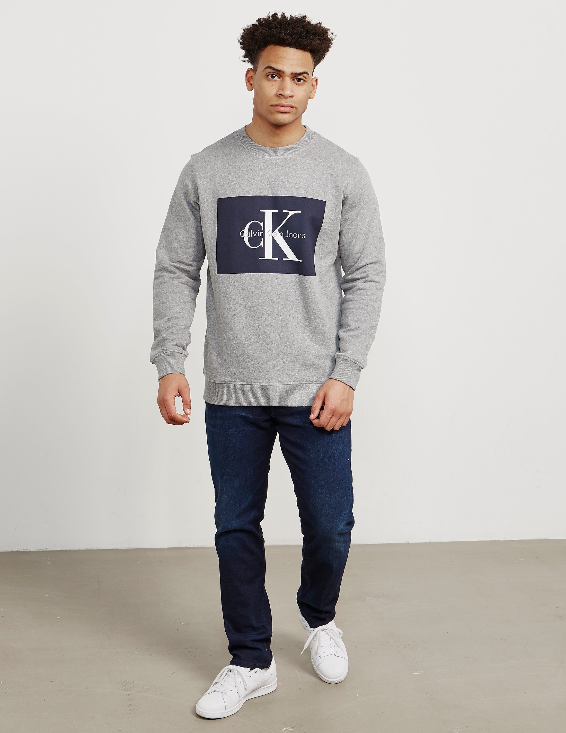 Calvin Klein Box Icon Crew Sweatshirt