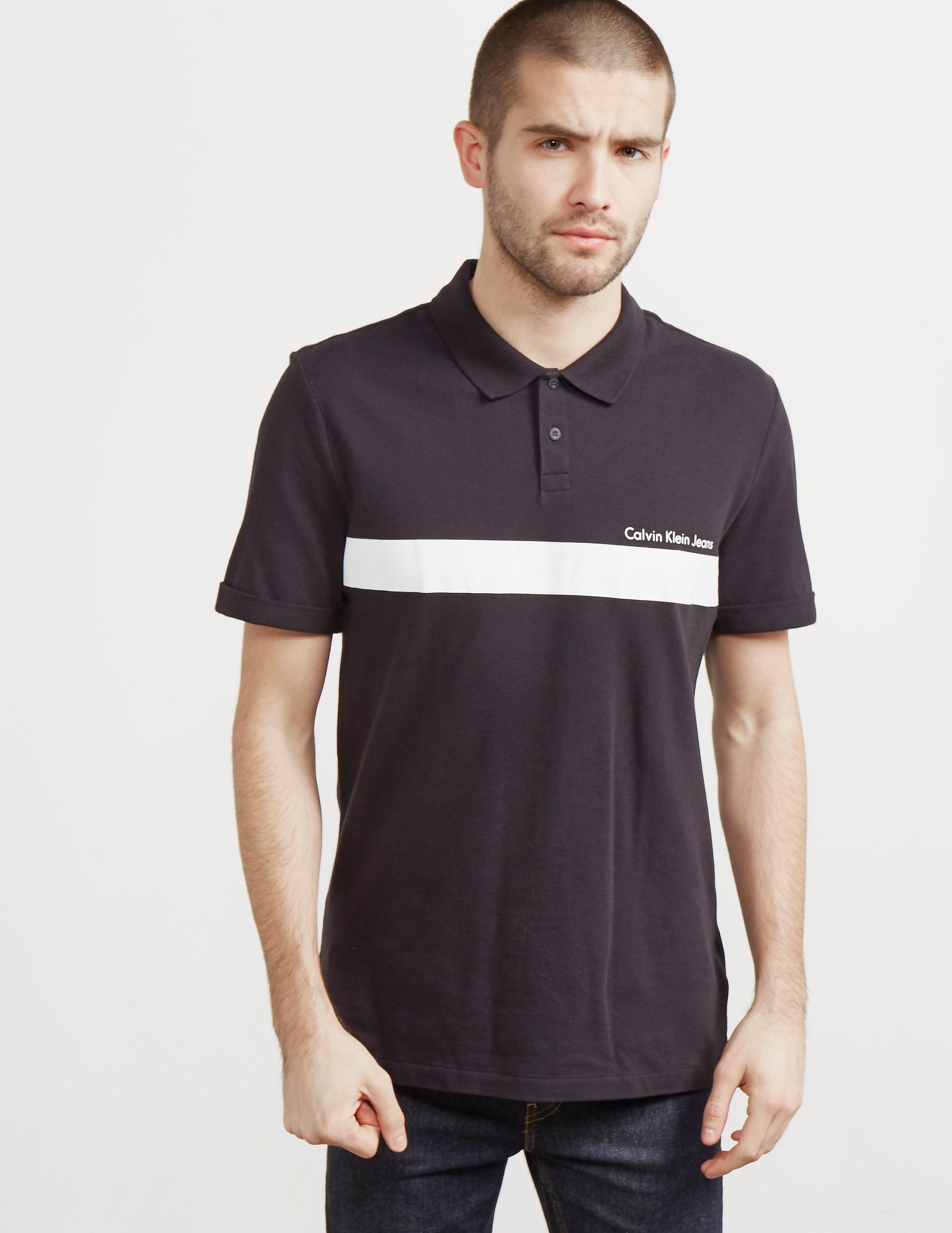 Calvin Klein Pertolis Block Short Sleeve Polo Shirt