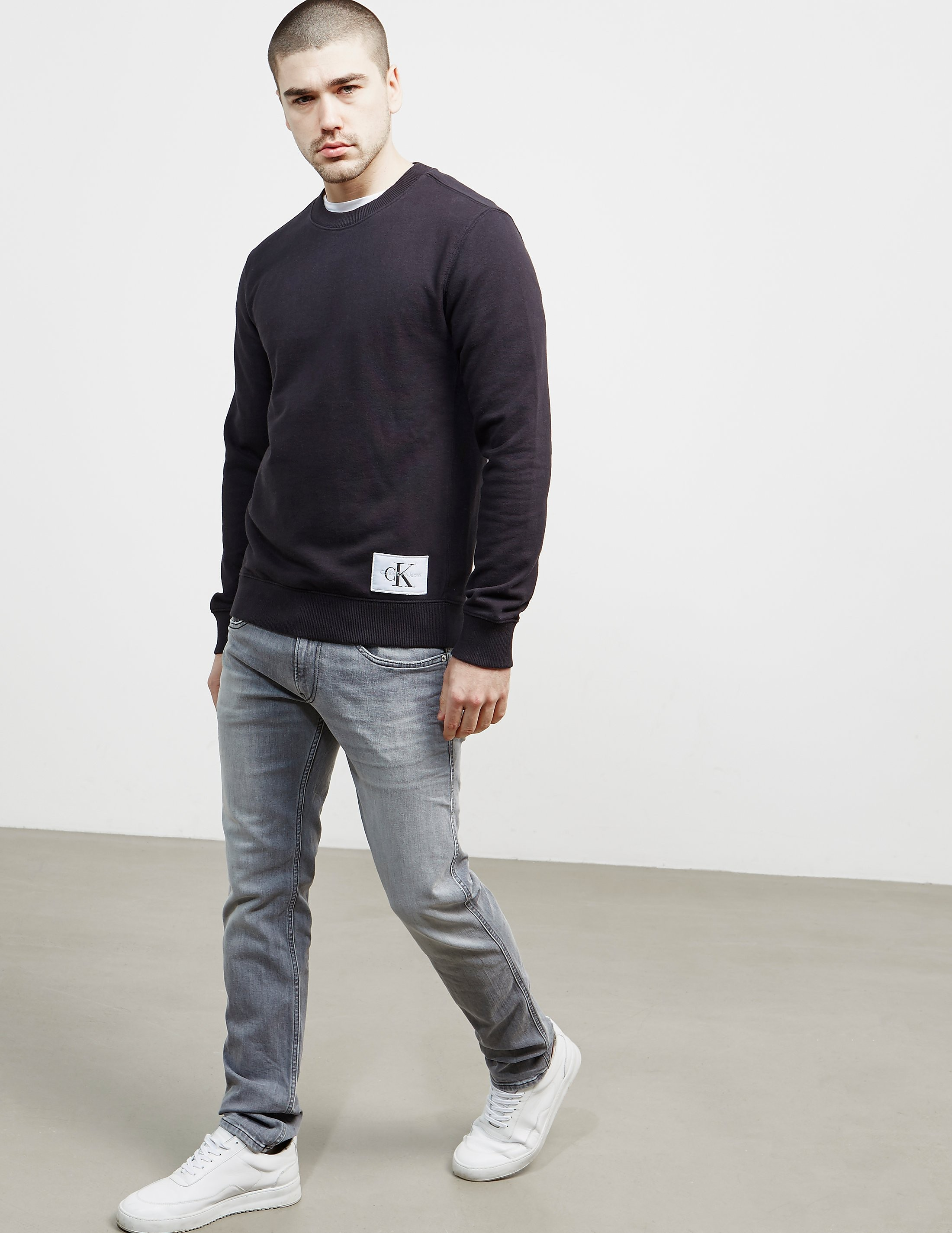 Calvin Klein Hem Patch Sweatshirt