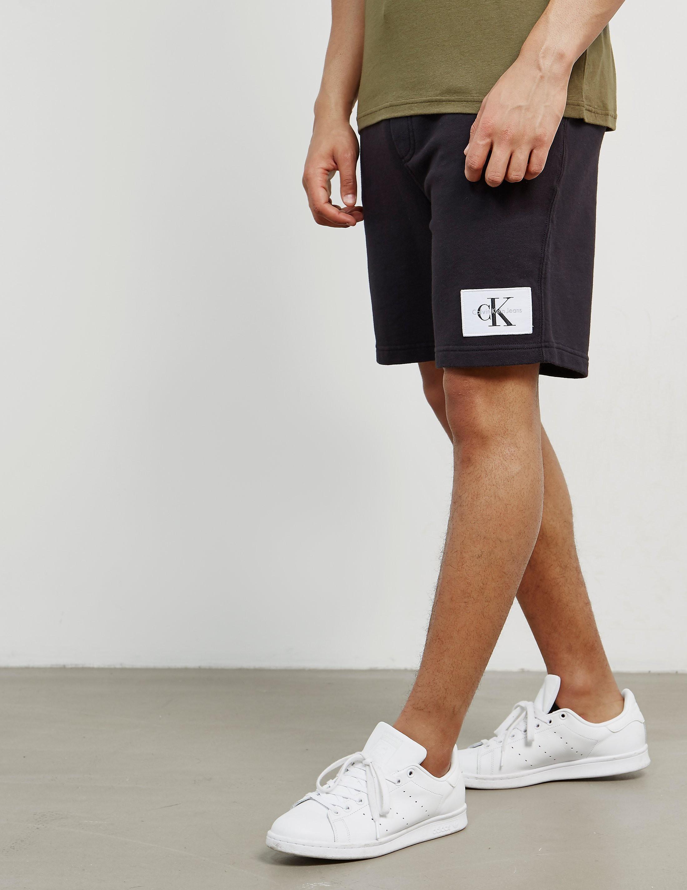 Calvin Klein Patch Fleece Shorts