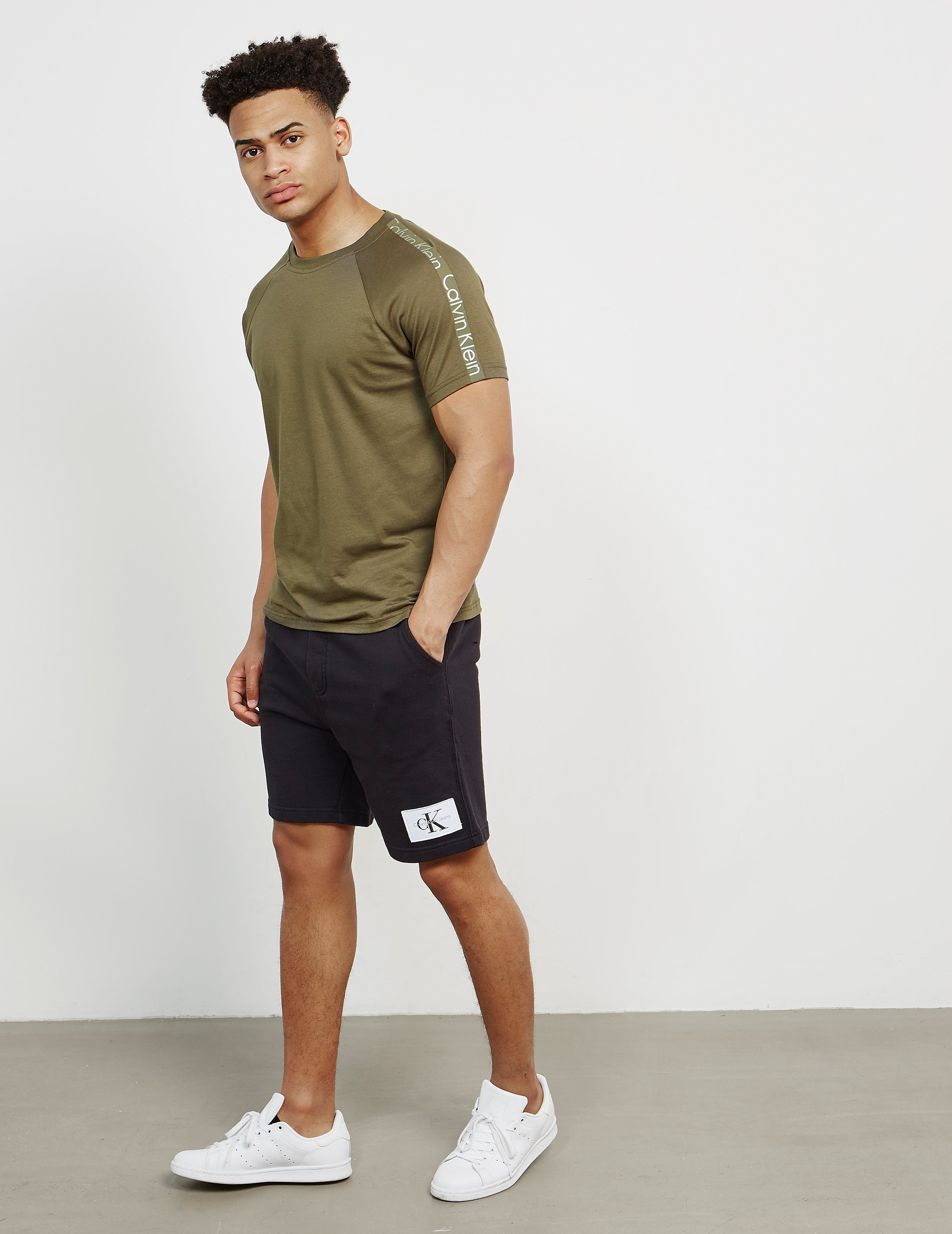 Calvin Klein Patch Fleece Shorts