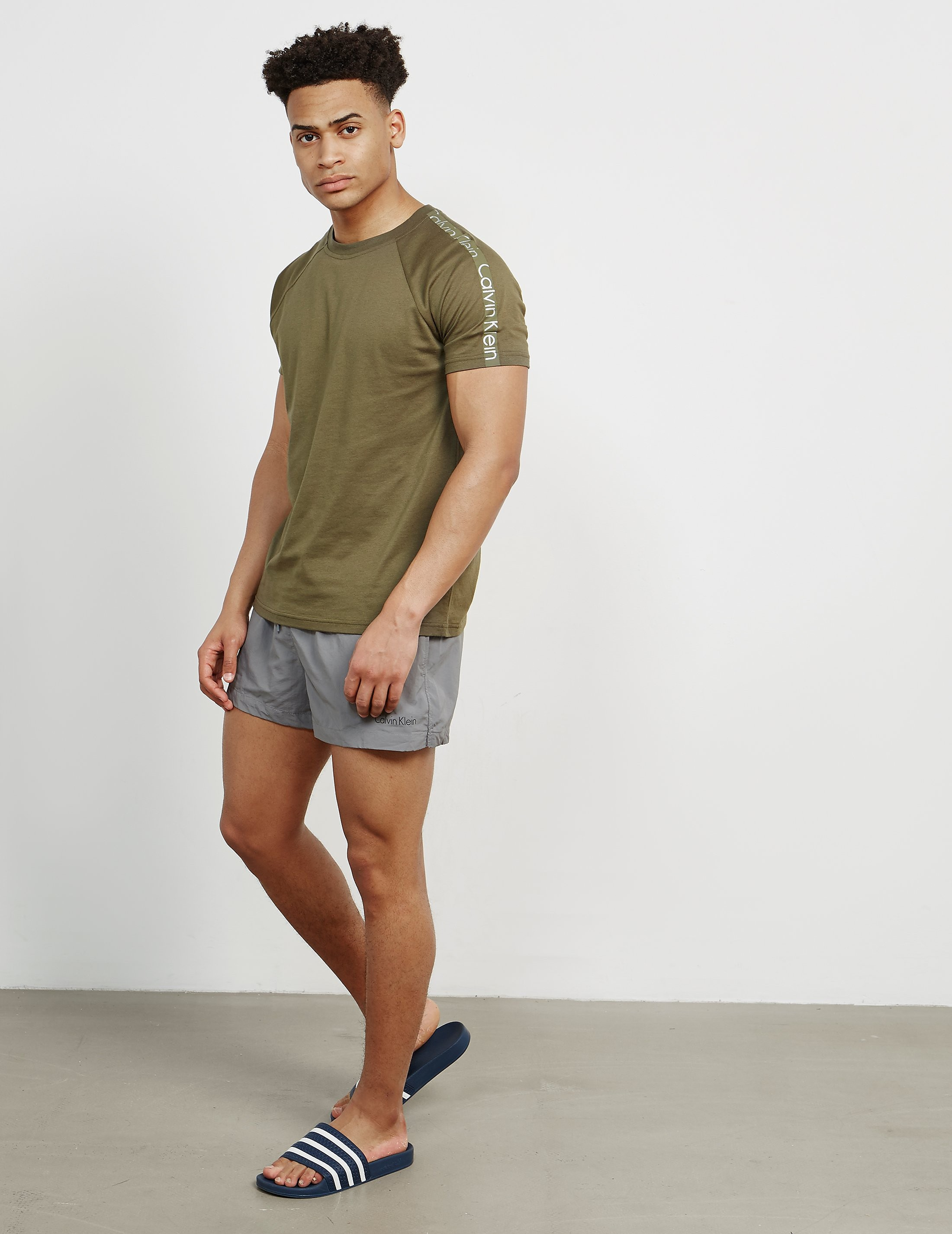 Calvin Klein Sleeve Branded Short Sleeve T-Shirt