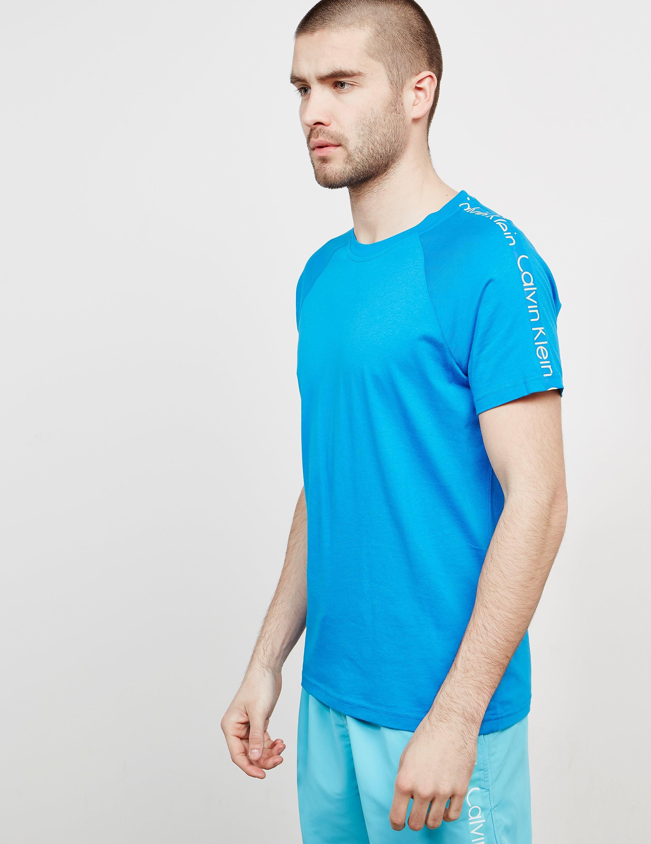 Calvin Klein Sleeve Branded Short Sleeve T-Shirt