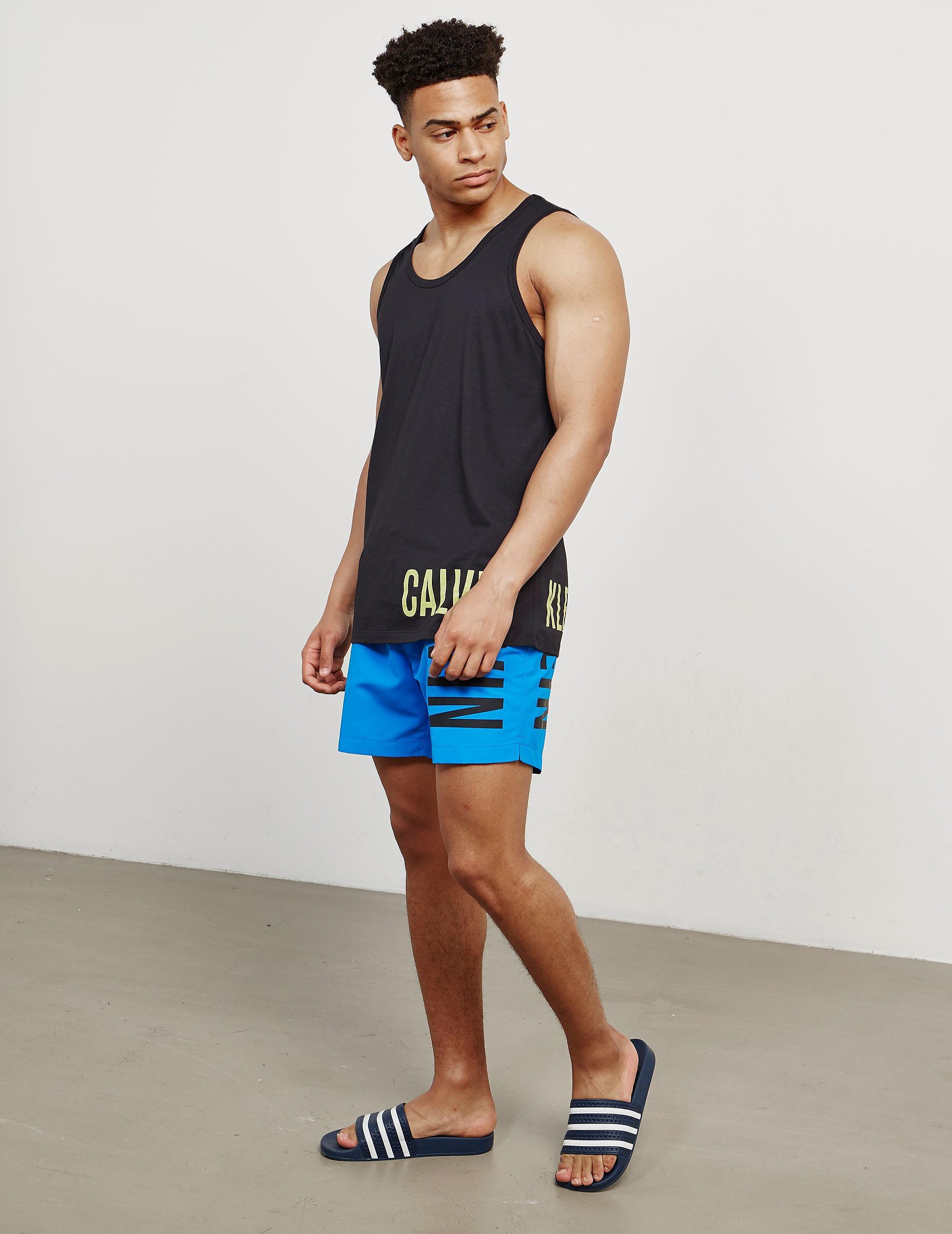 Calvin Klein Large Logo Swim Shorts
