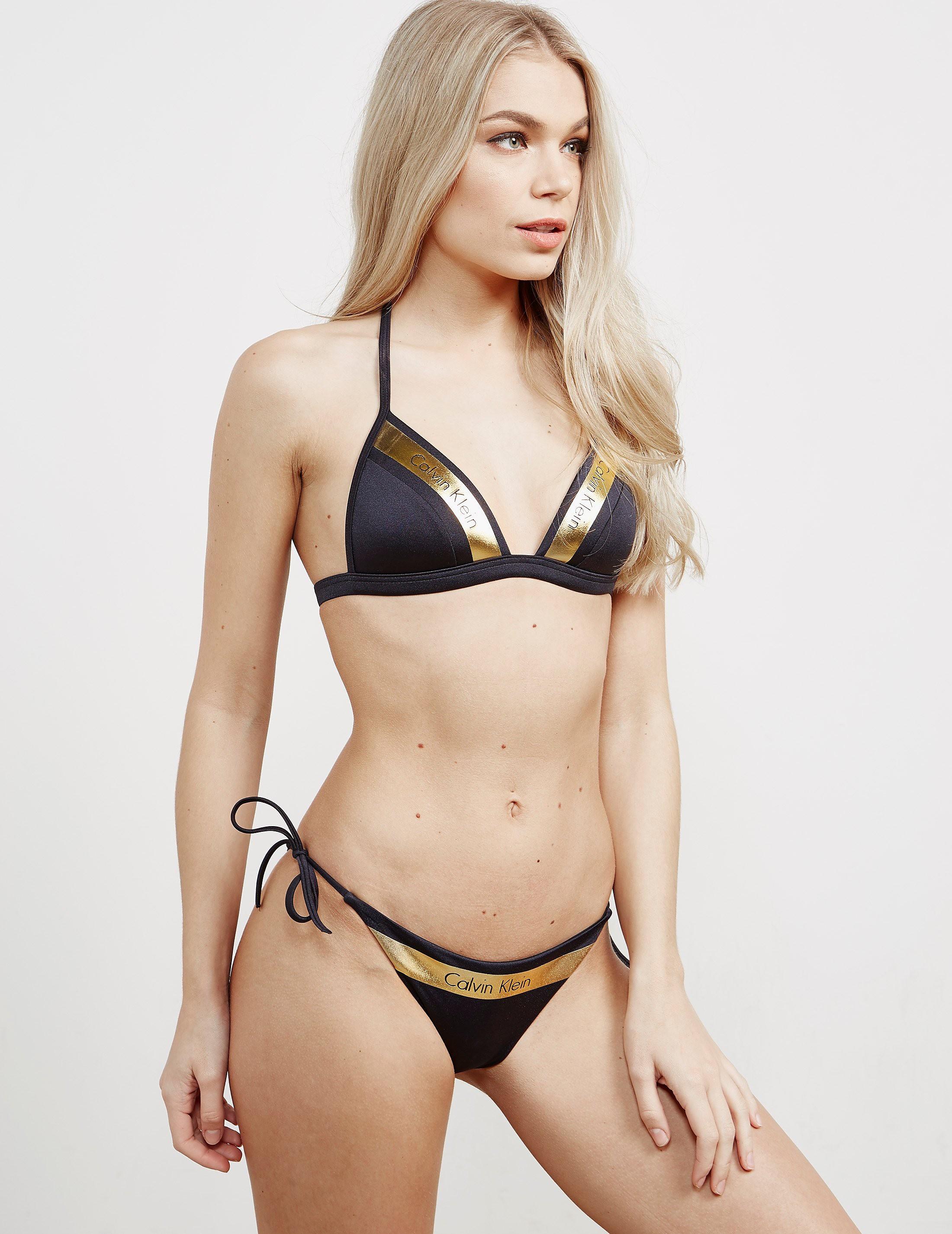 Calvin Klein Moulded Traingle Bikini Top