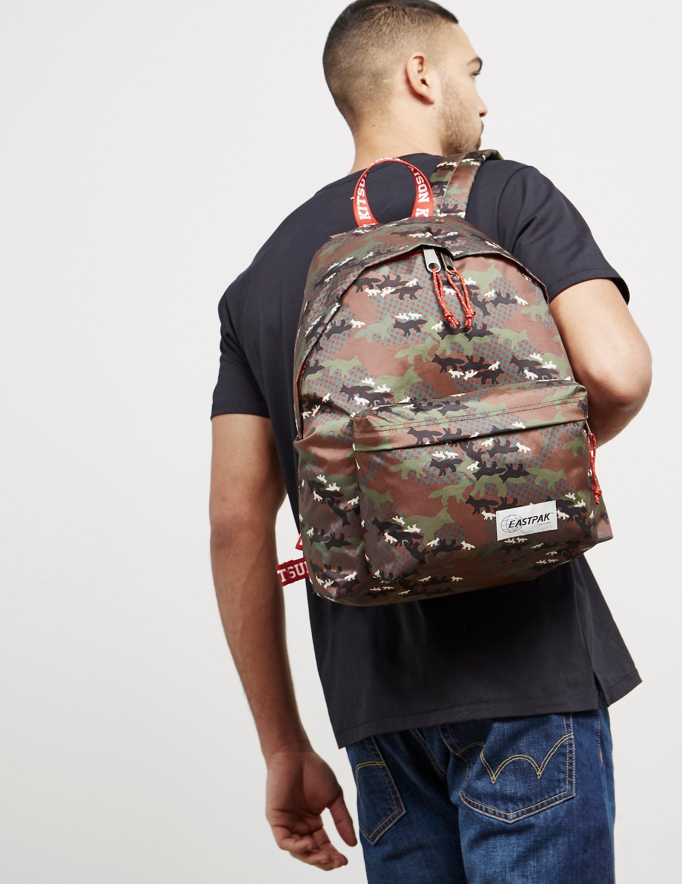 Maison Kitsune x Eastpak Camouflage Backpack