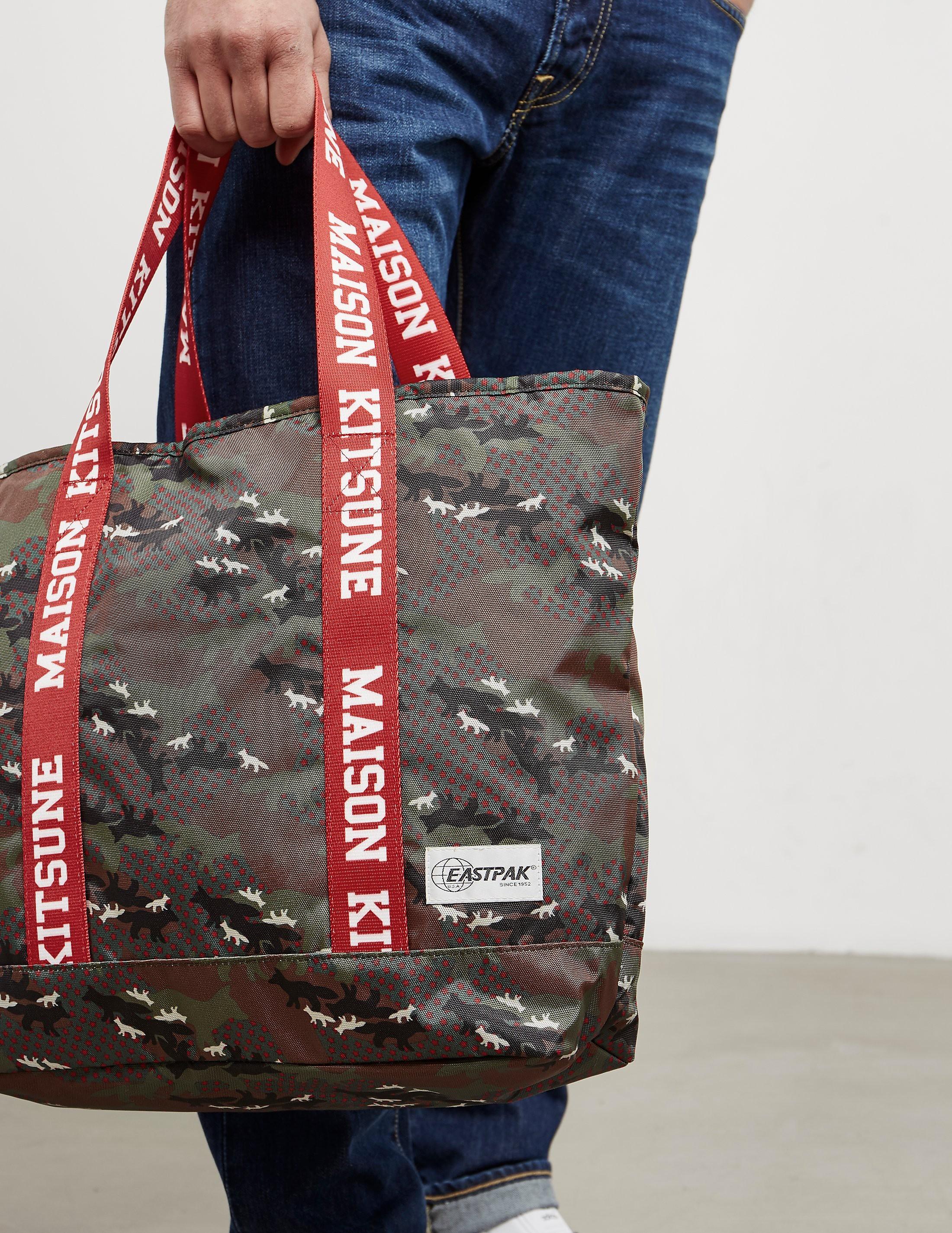 Maison Kitsune x Eastpak Camouflage Tote Bag