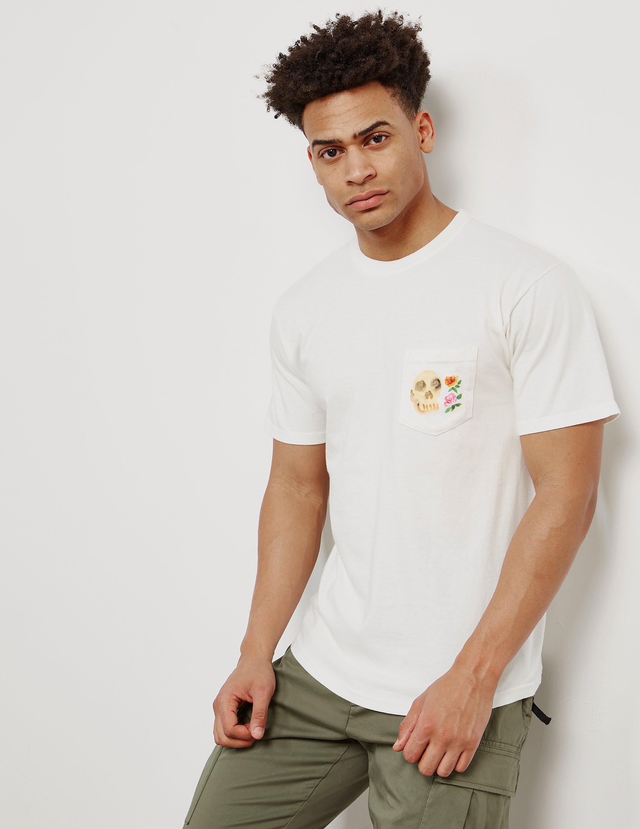 Stussy Calavera Skull Short Sleeve T-Shirt