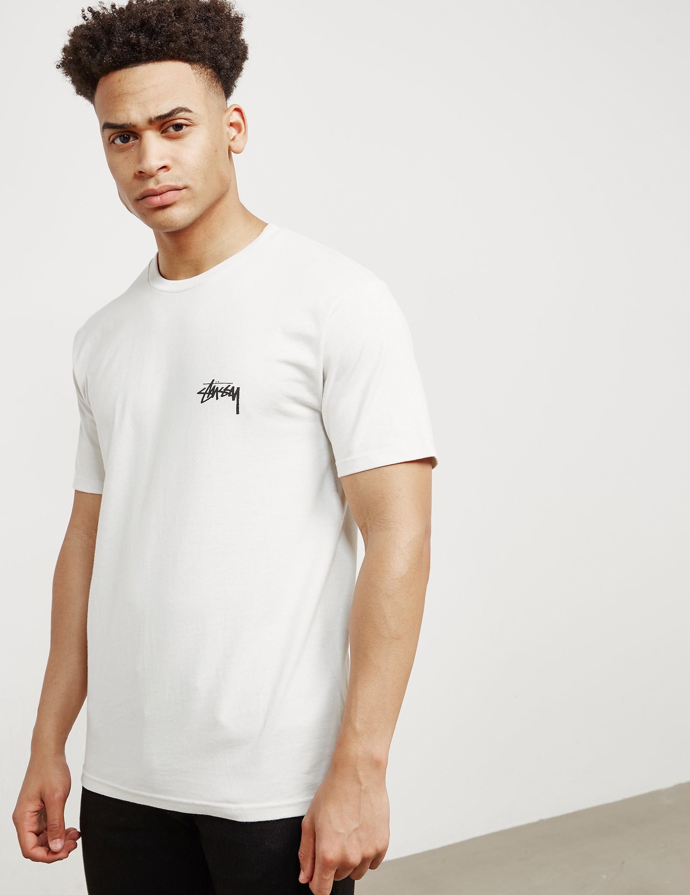 Stussy Fire On Babylon Short Sleeve T-Shirt