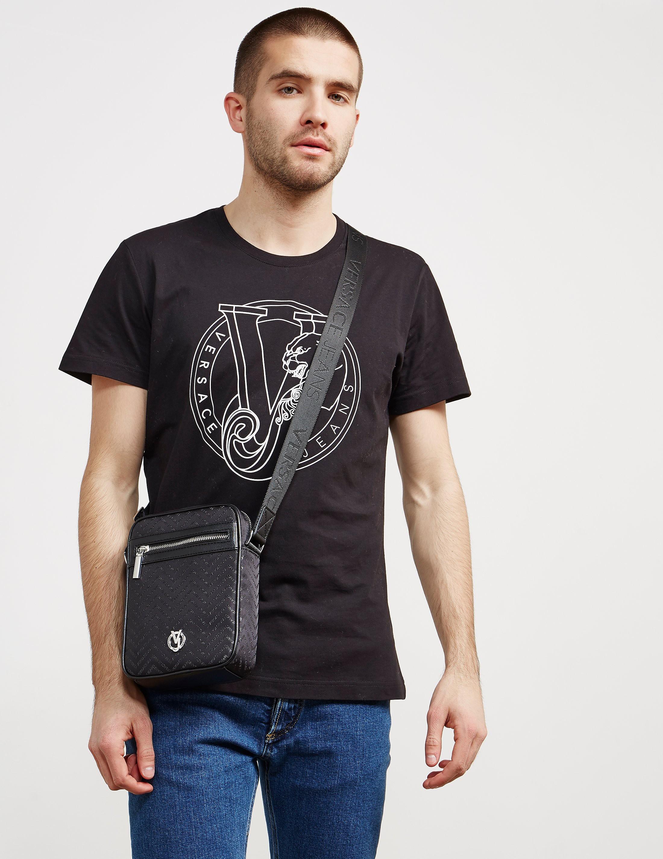 Versace Linea All Over Print Small Item Bag
