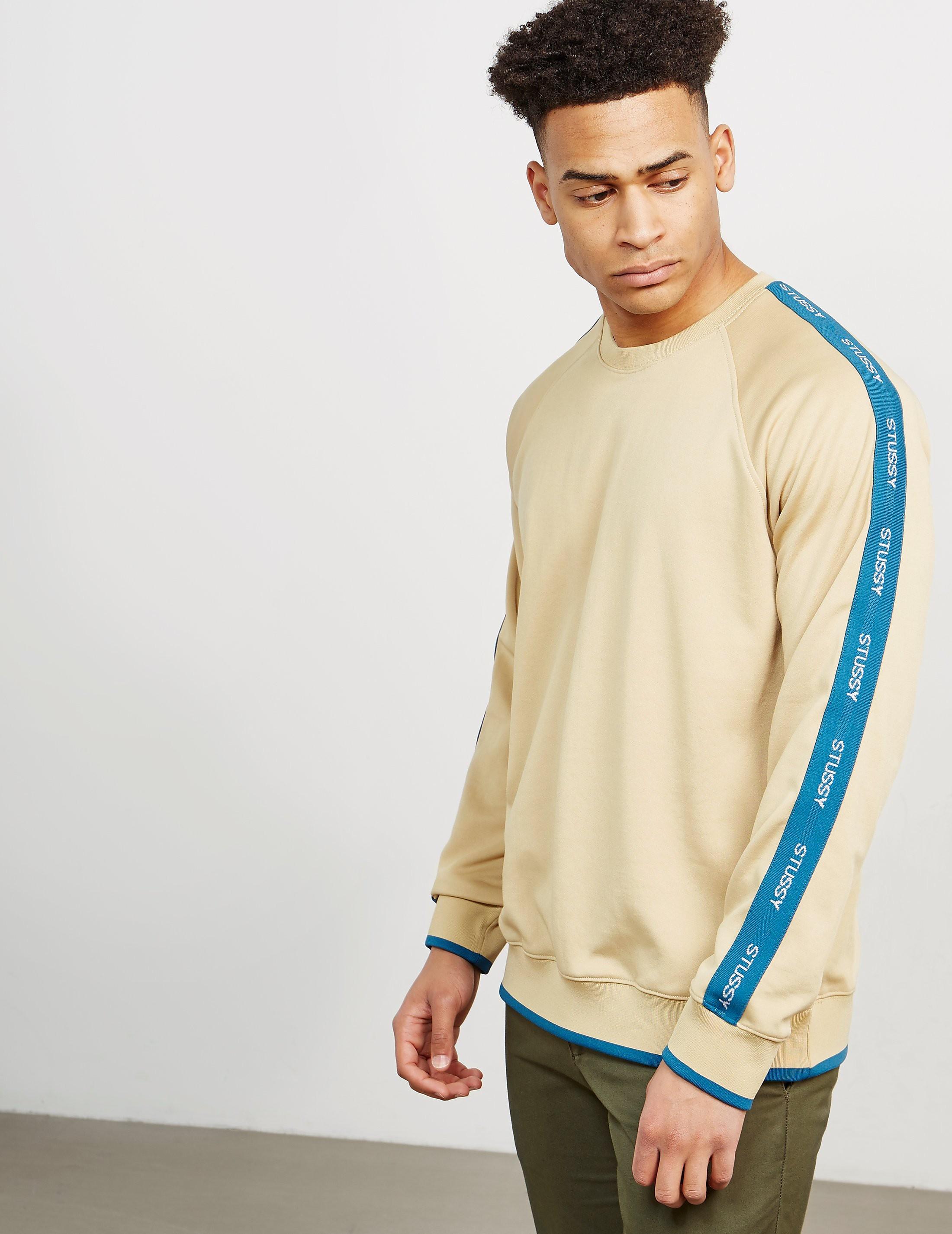 Stussy Track Crew Sweatshirt