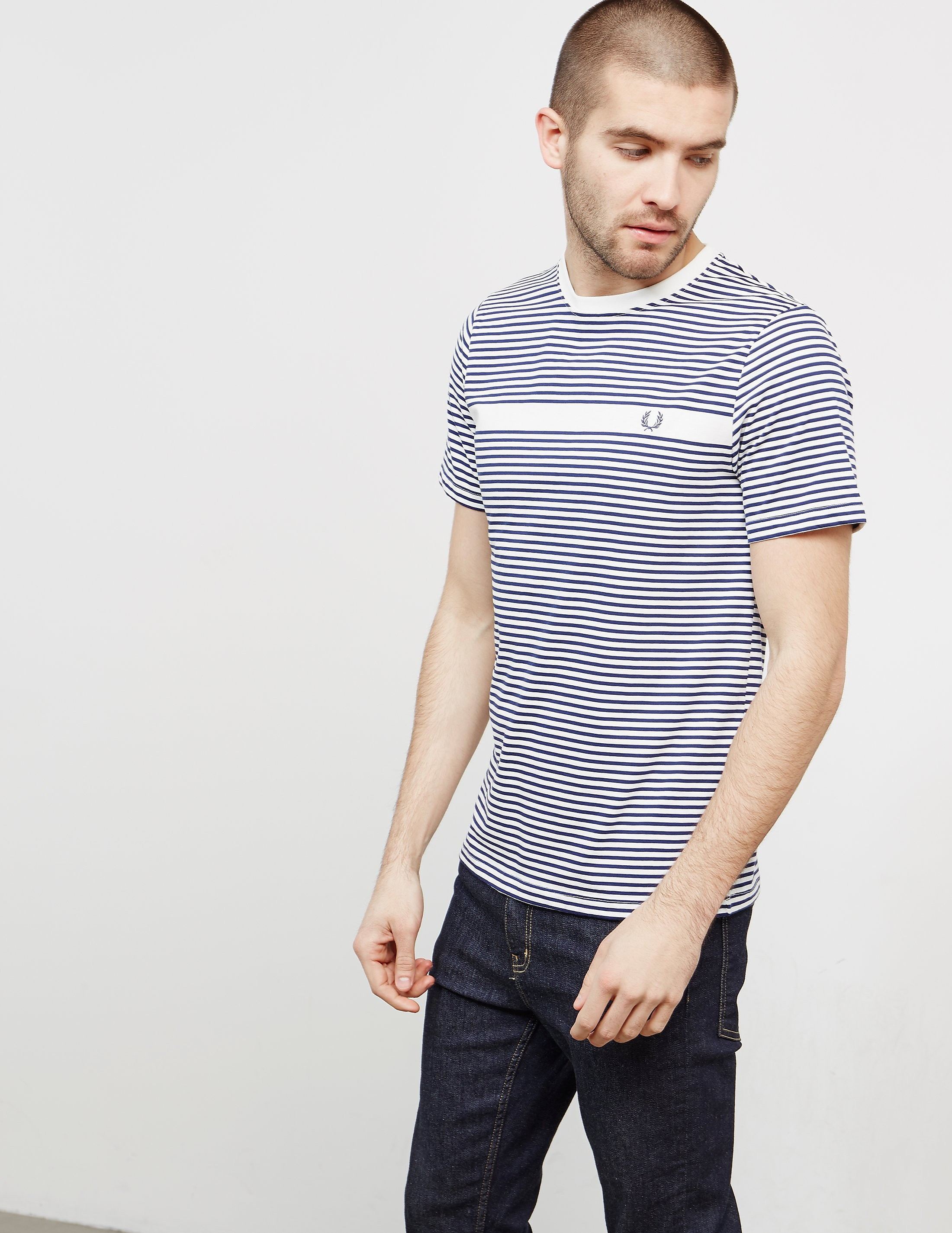 Fred Perry Stripe Short Sleeve T-Shirt