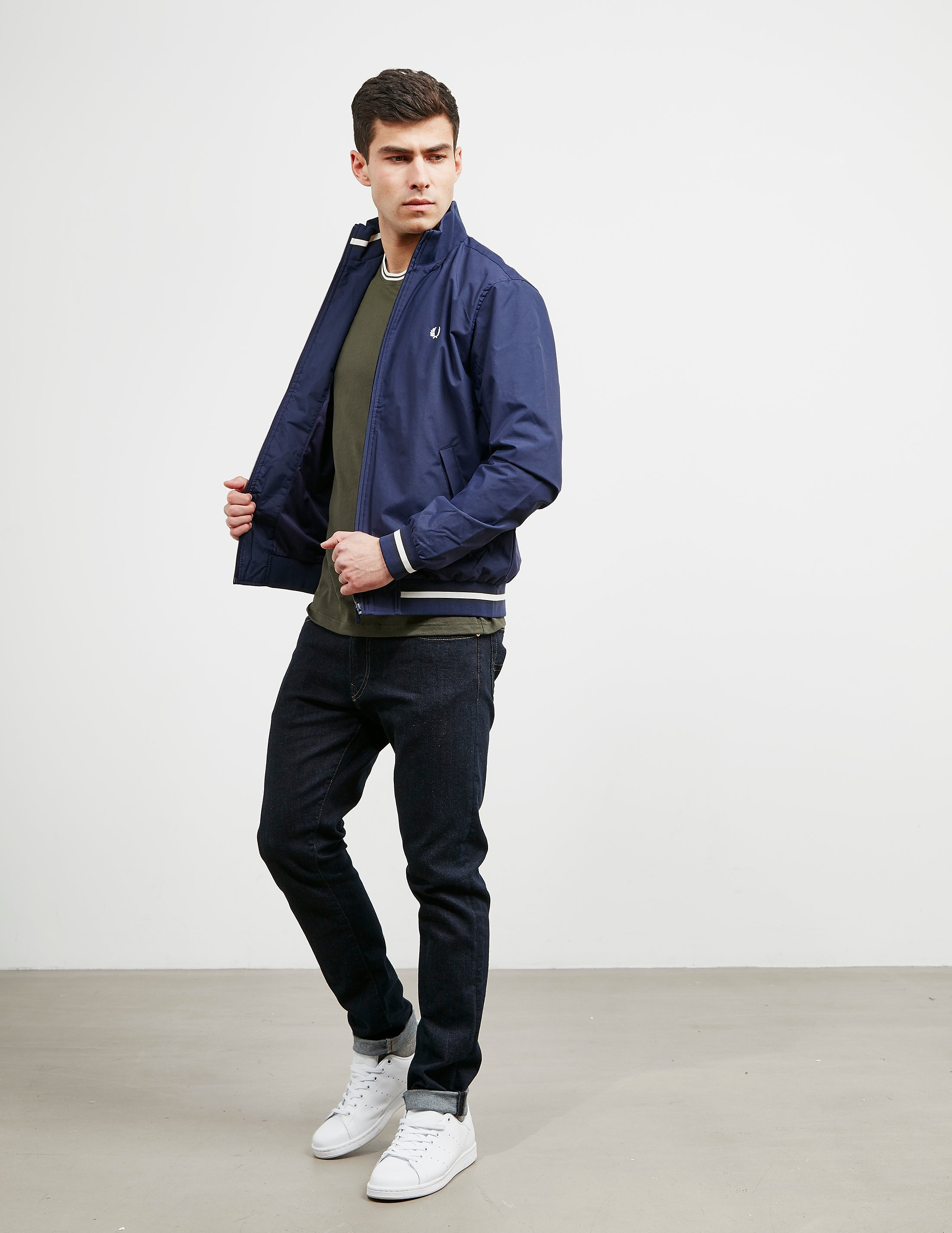 Fred Perry Tipped Funnel Neck Lightweight Brentham Jacket