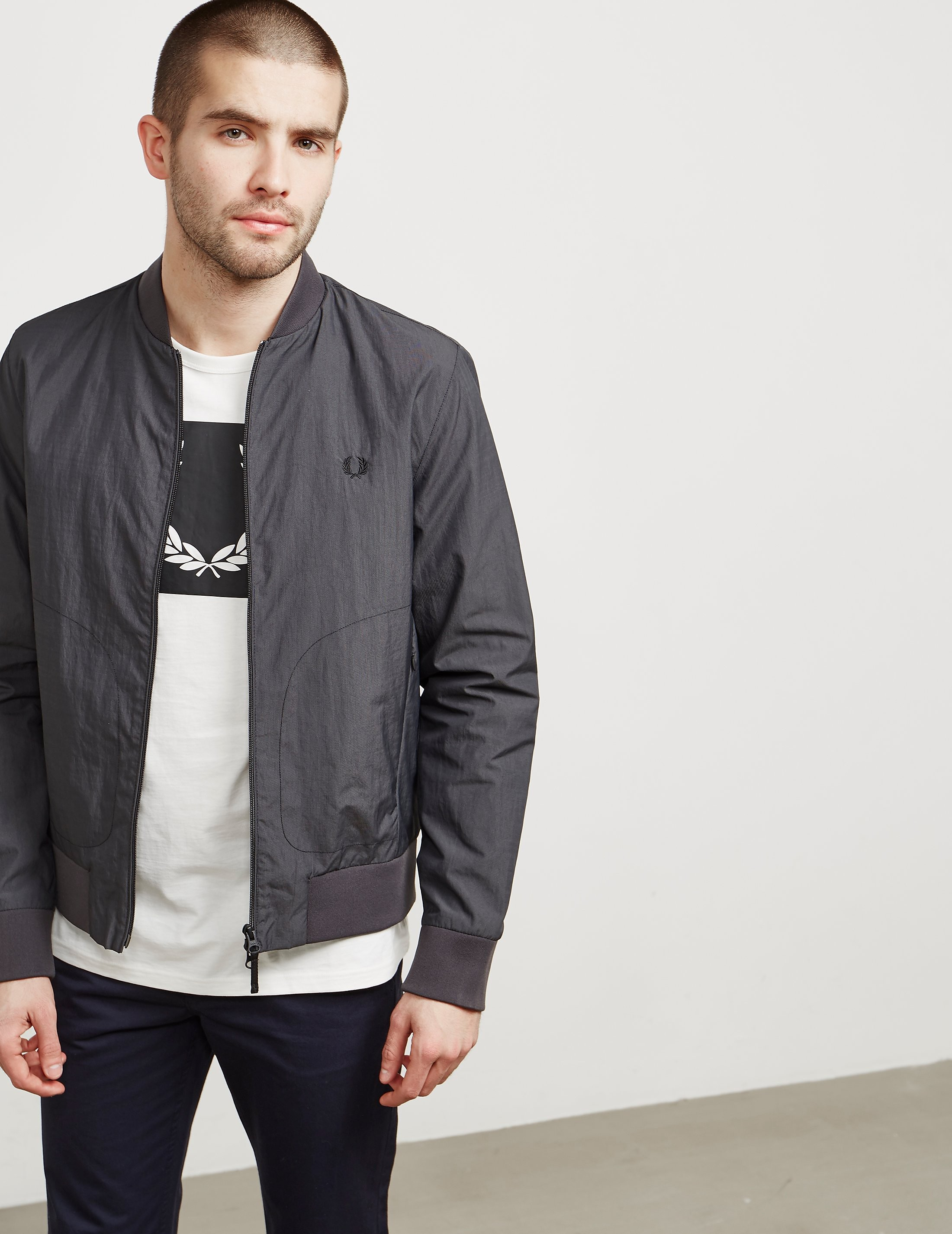 Fred Perry Lightweight Sports Bomber Jacket