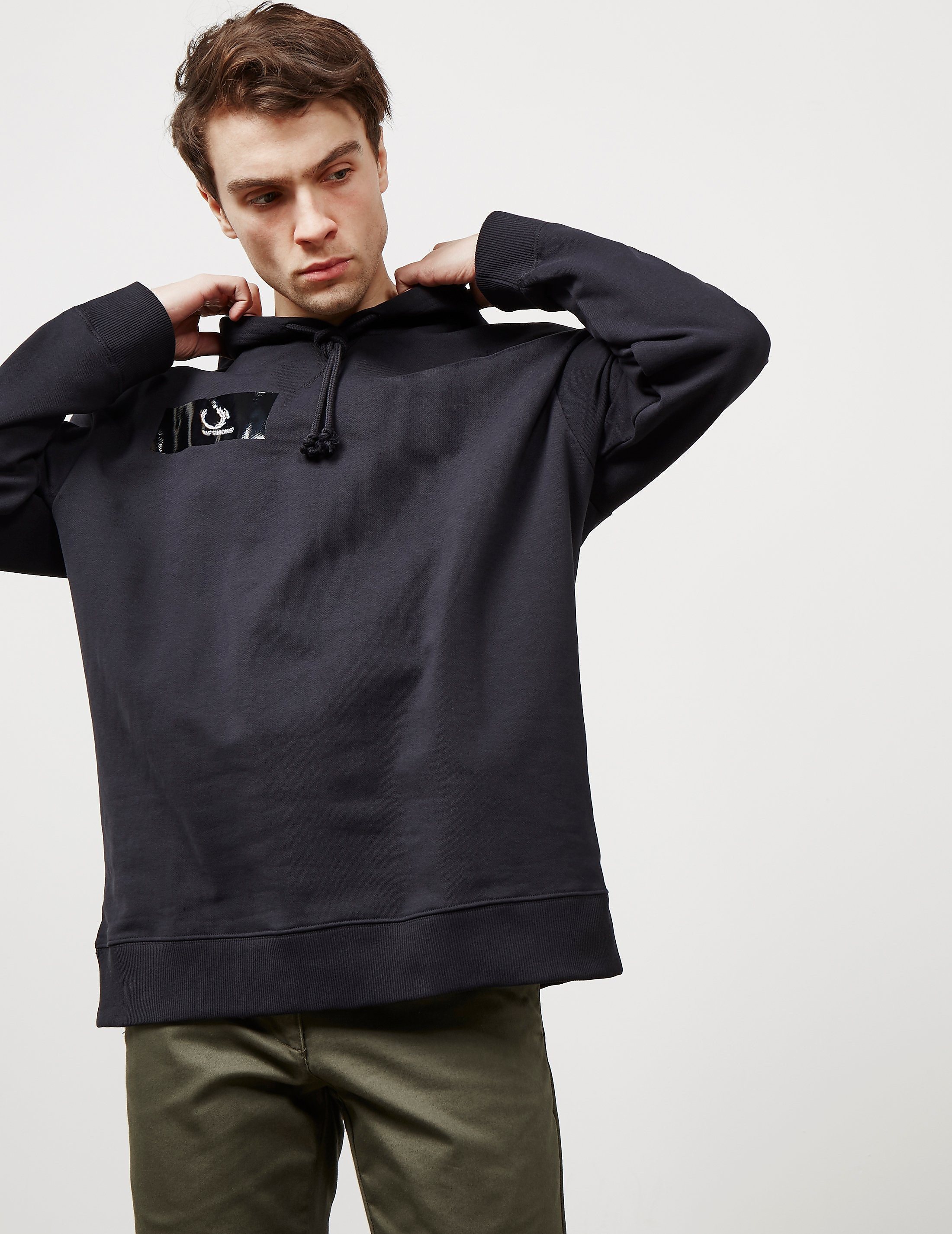 Fred Perry x Raf Simons Tape Hoodie - Online Exclusive