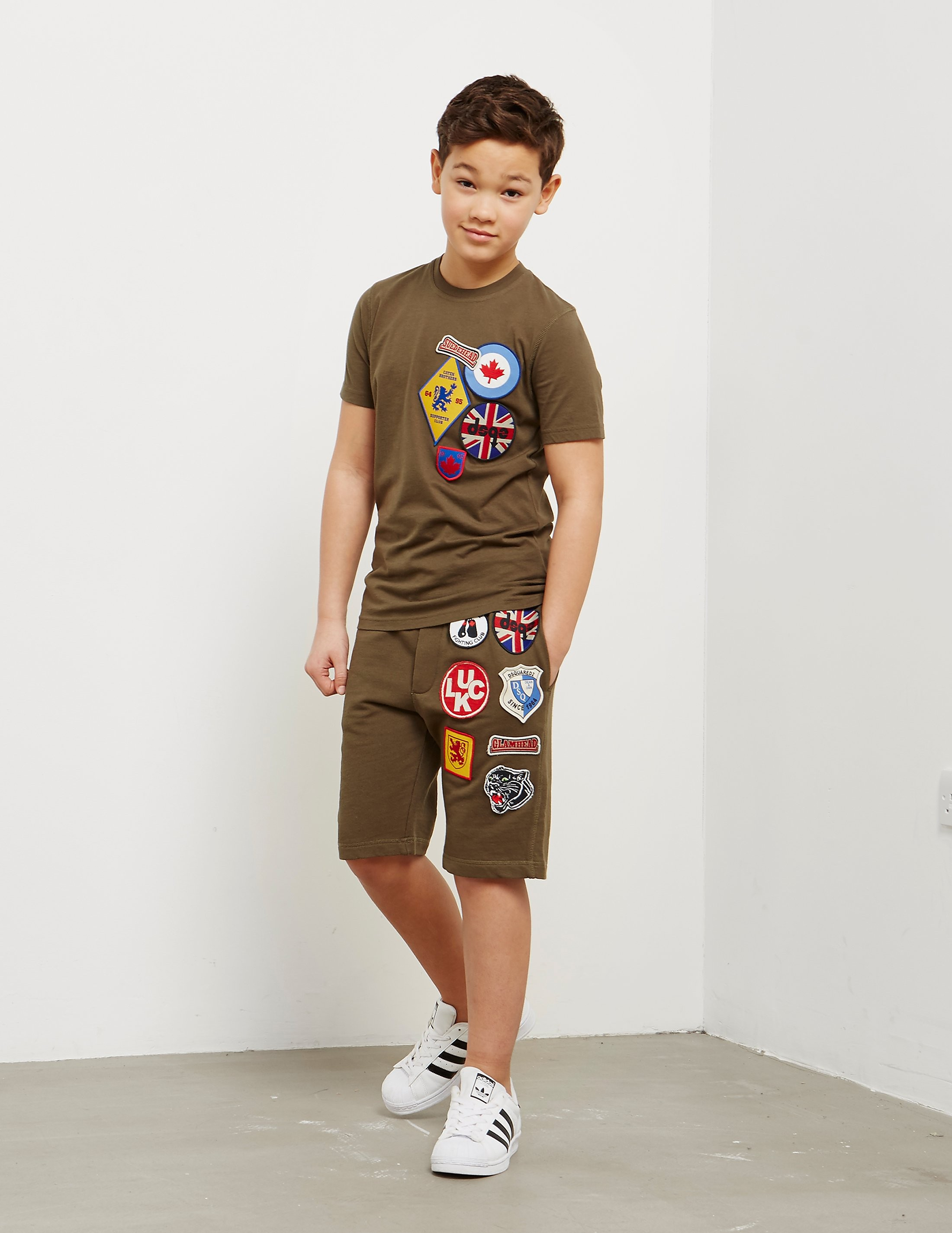 DSQUARED2 Patch Short Sleeve T-Shirt
