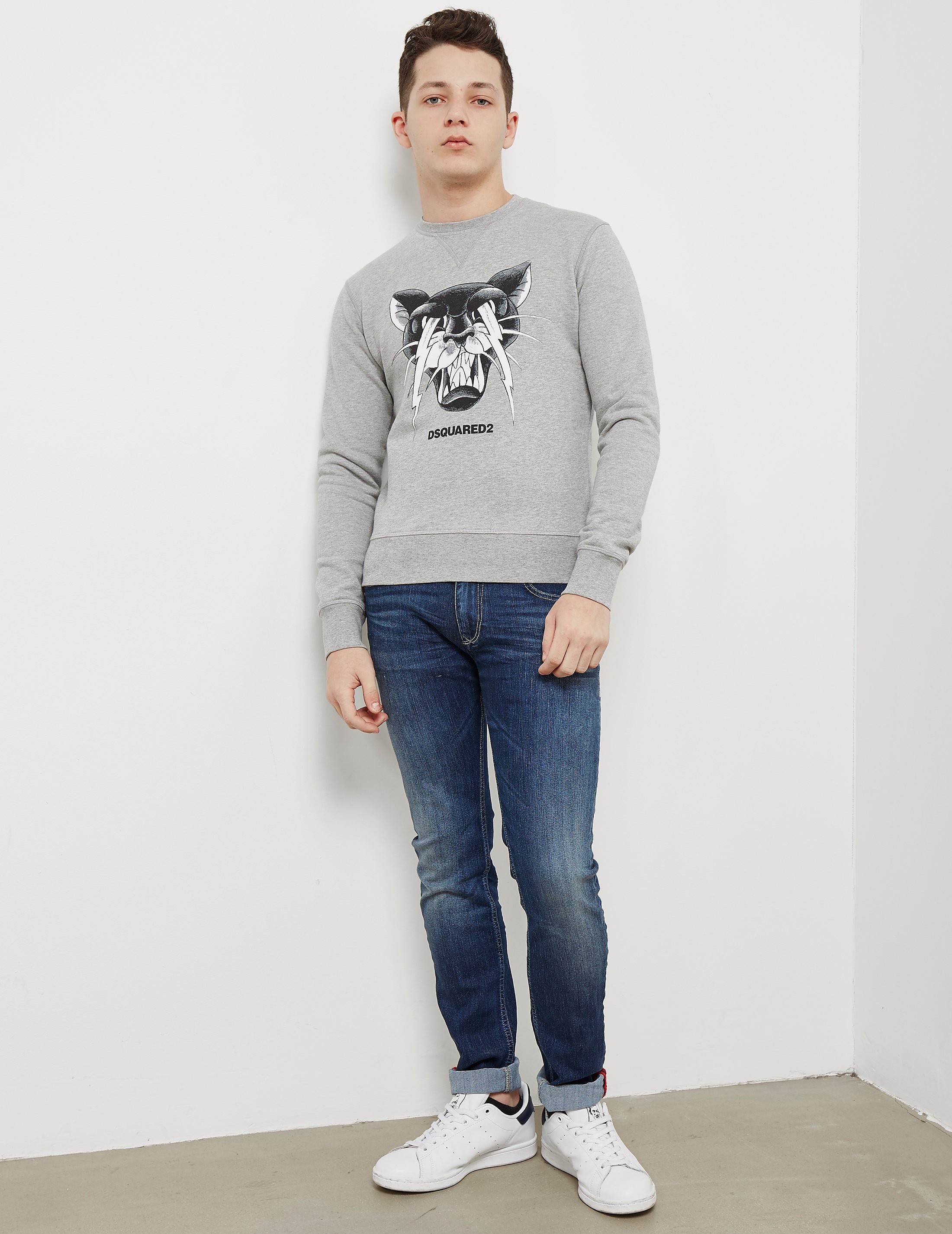 DSQUARED2 Bolt Cat Sweatshirt
