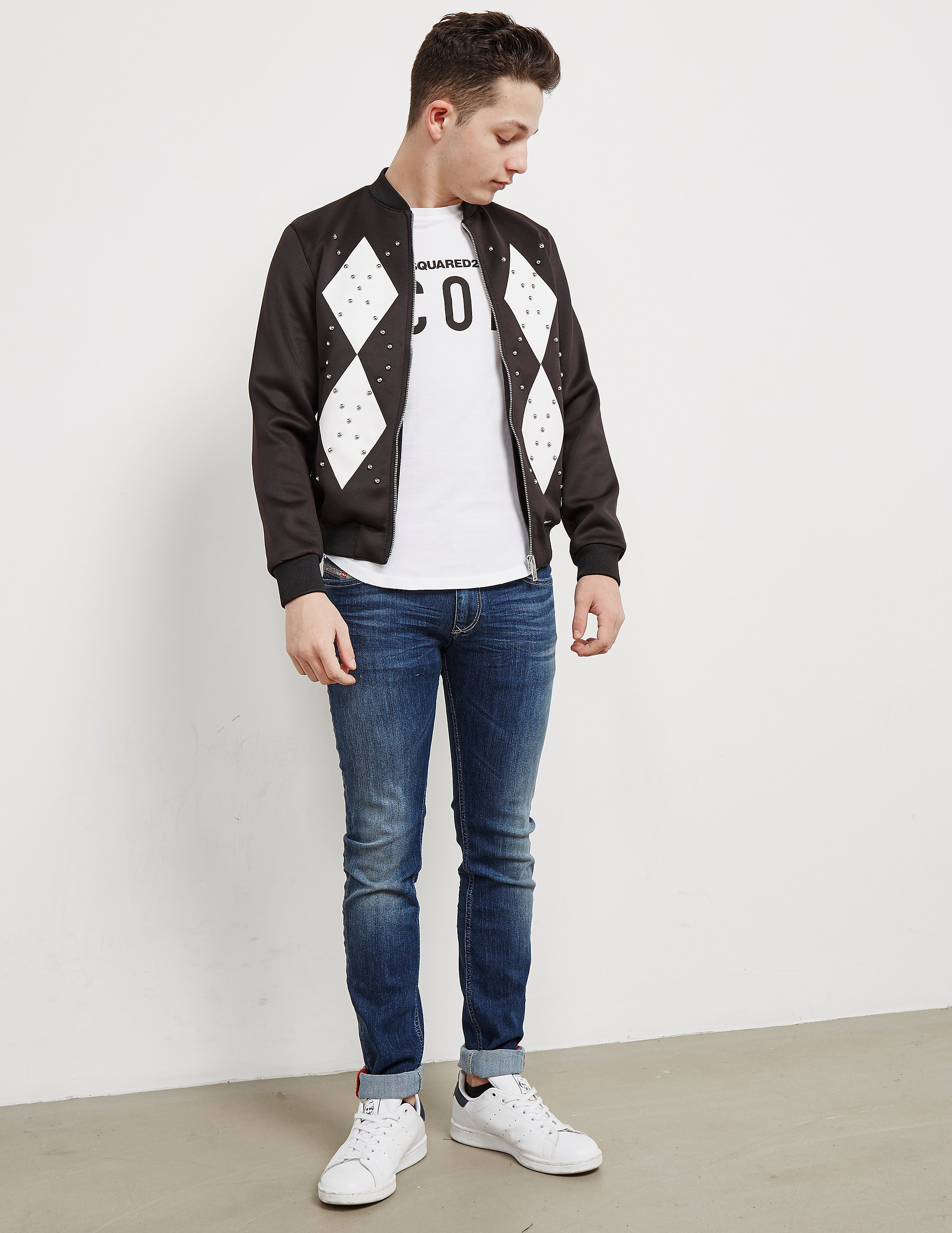 DSQUARED2 Neoprene Lightweight Bomber Jacket