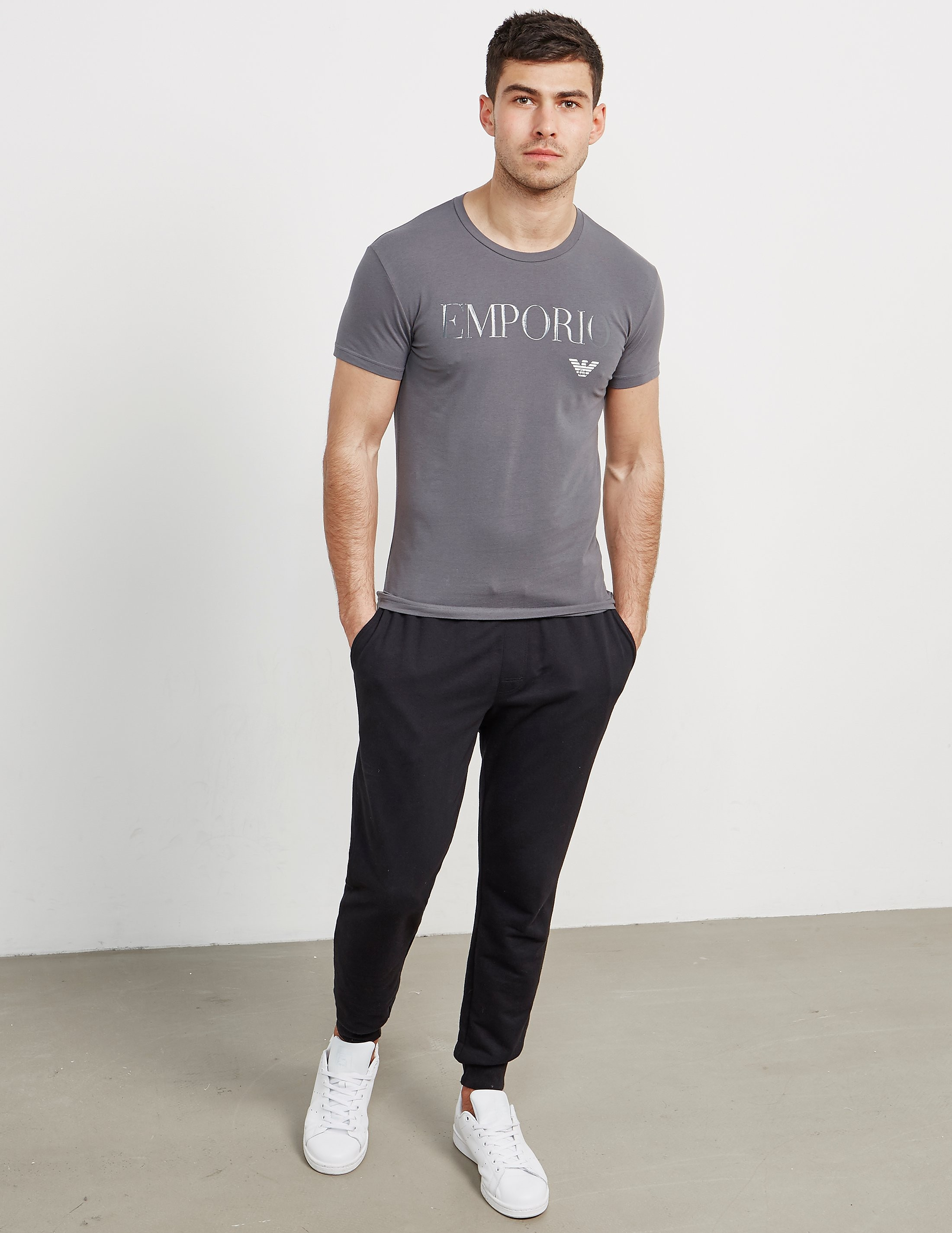 Emporio Armani Gel Print Short Sleeve T-Shirt