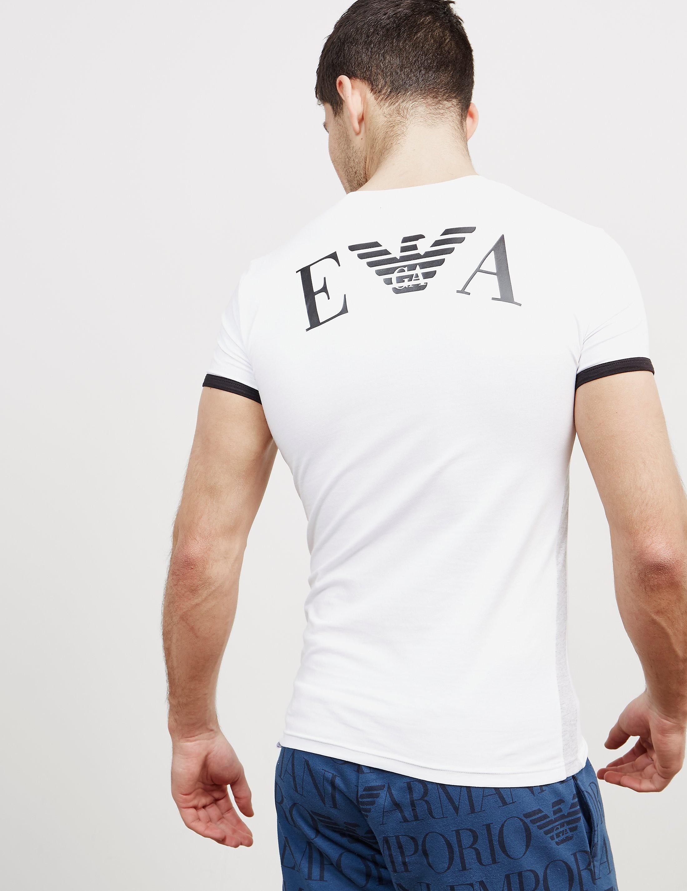 Emporio Armani Back Logo Short Sleeve T-Shirt