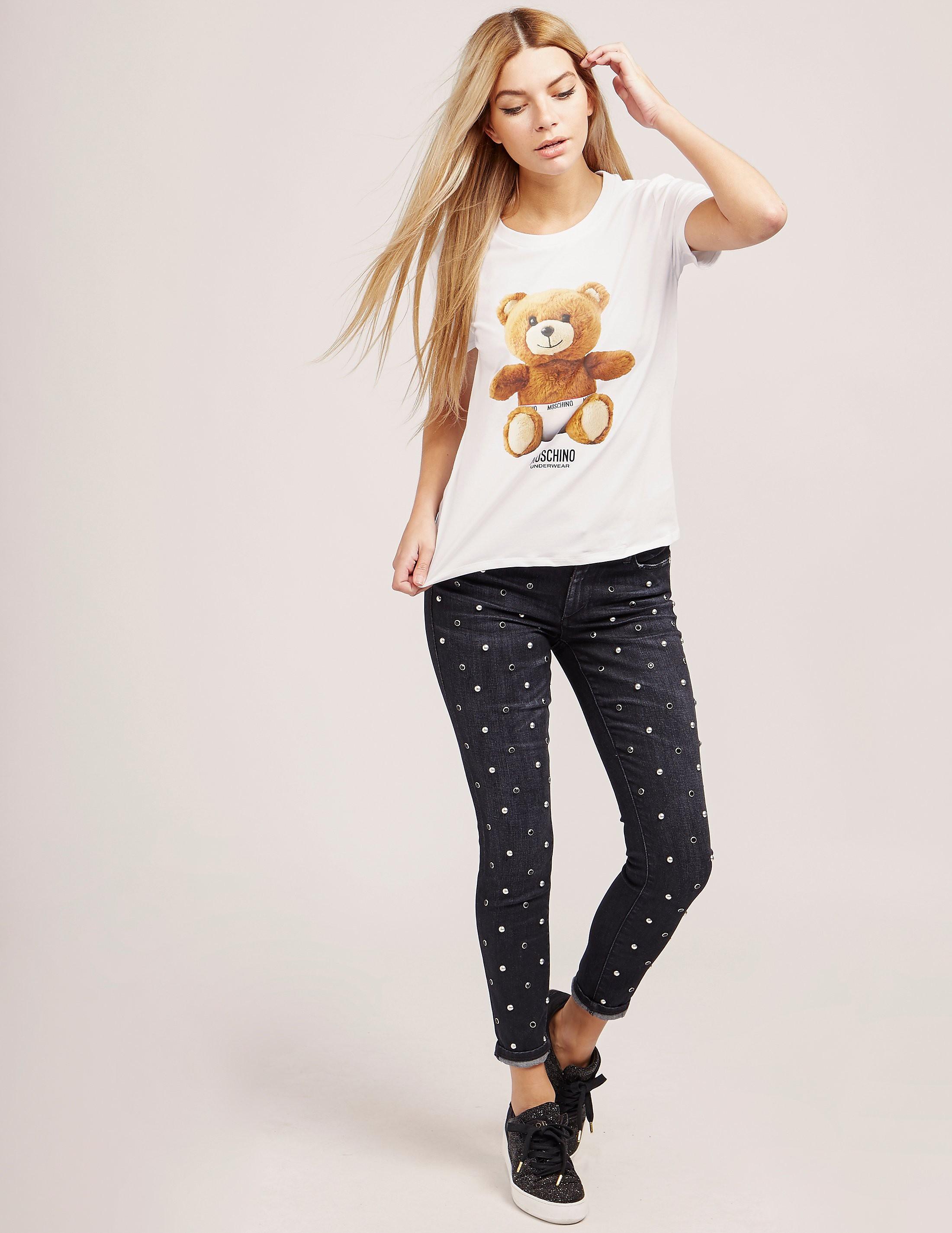 Moschino Bear Short Sleeve T-Shirt