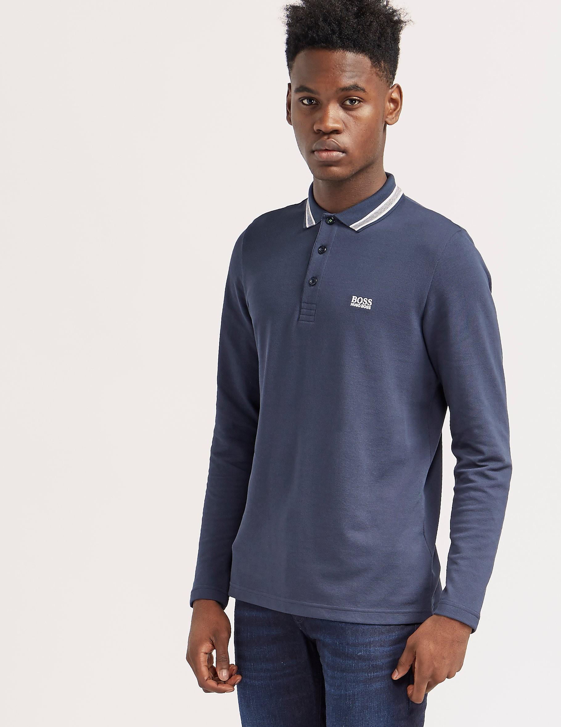 BOSS Green Plisy Short Sleeve Polo Shirt
