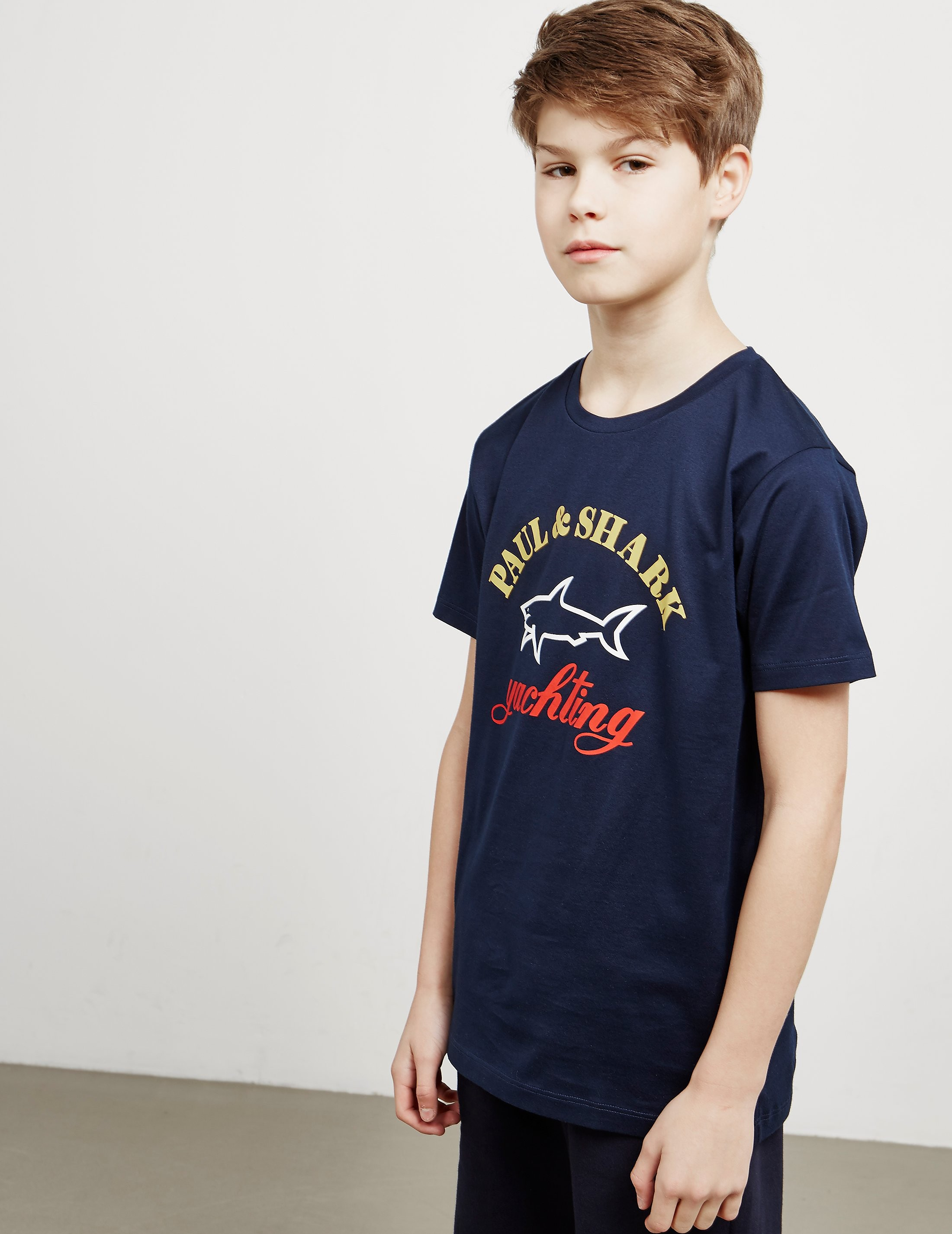 Paul and Shark Logo Short Sleeve T-Shirt