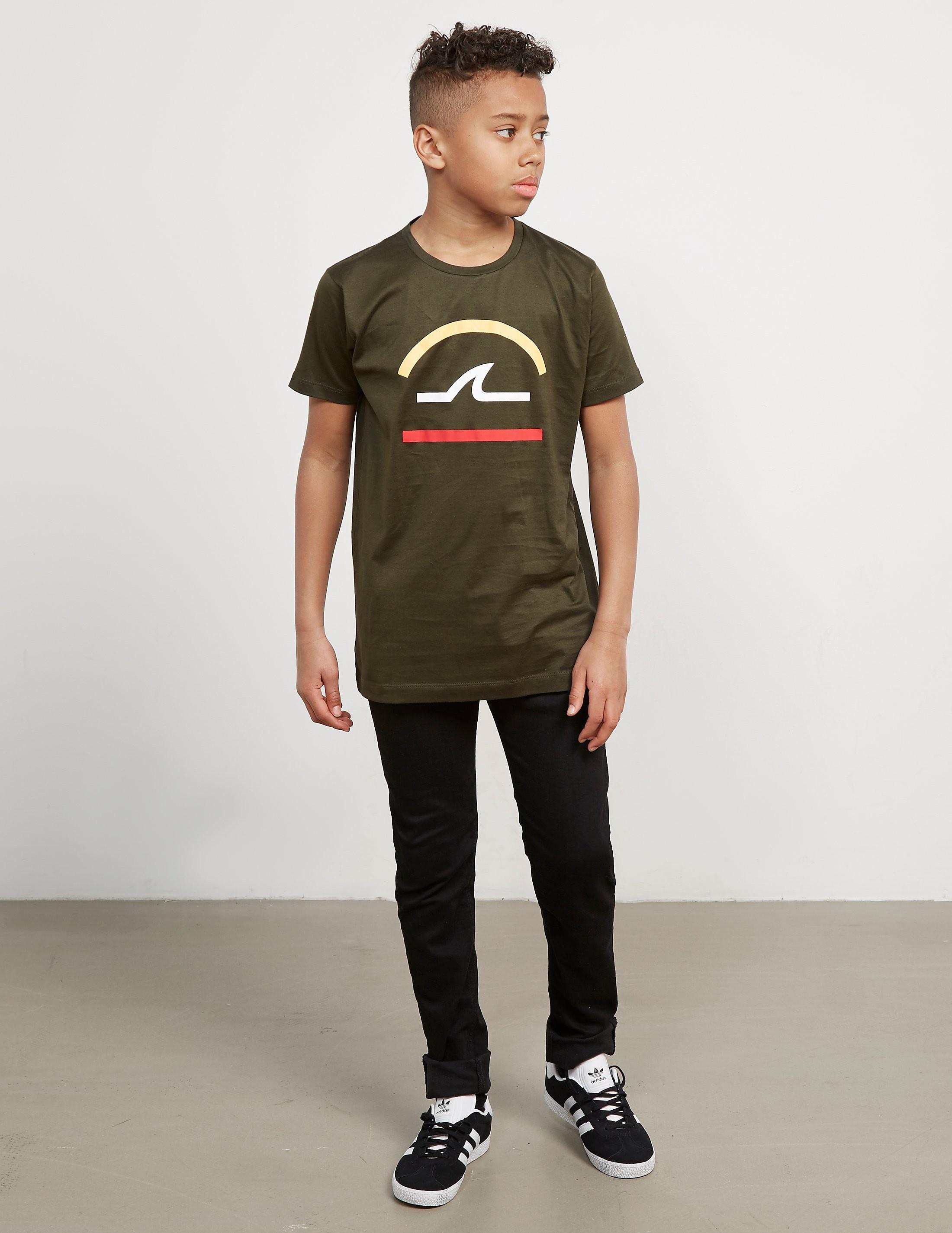 Paul and Shark Line Logo Short Sleeve T-Shirt