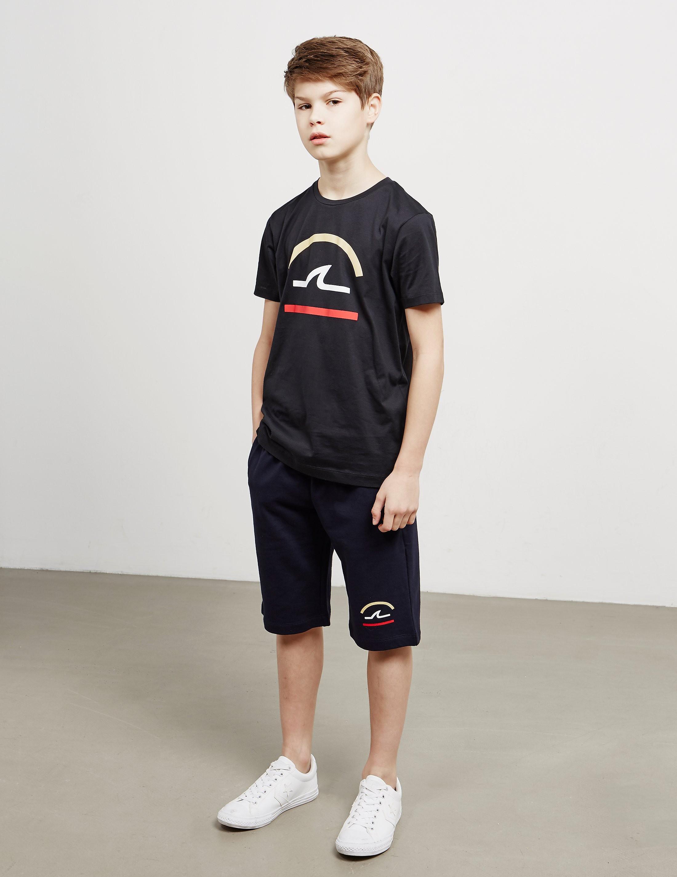Paul and Shark Line Logo Shorts