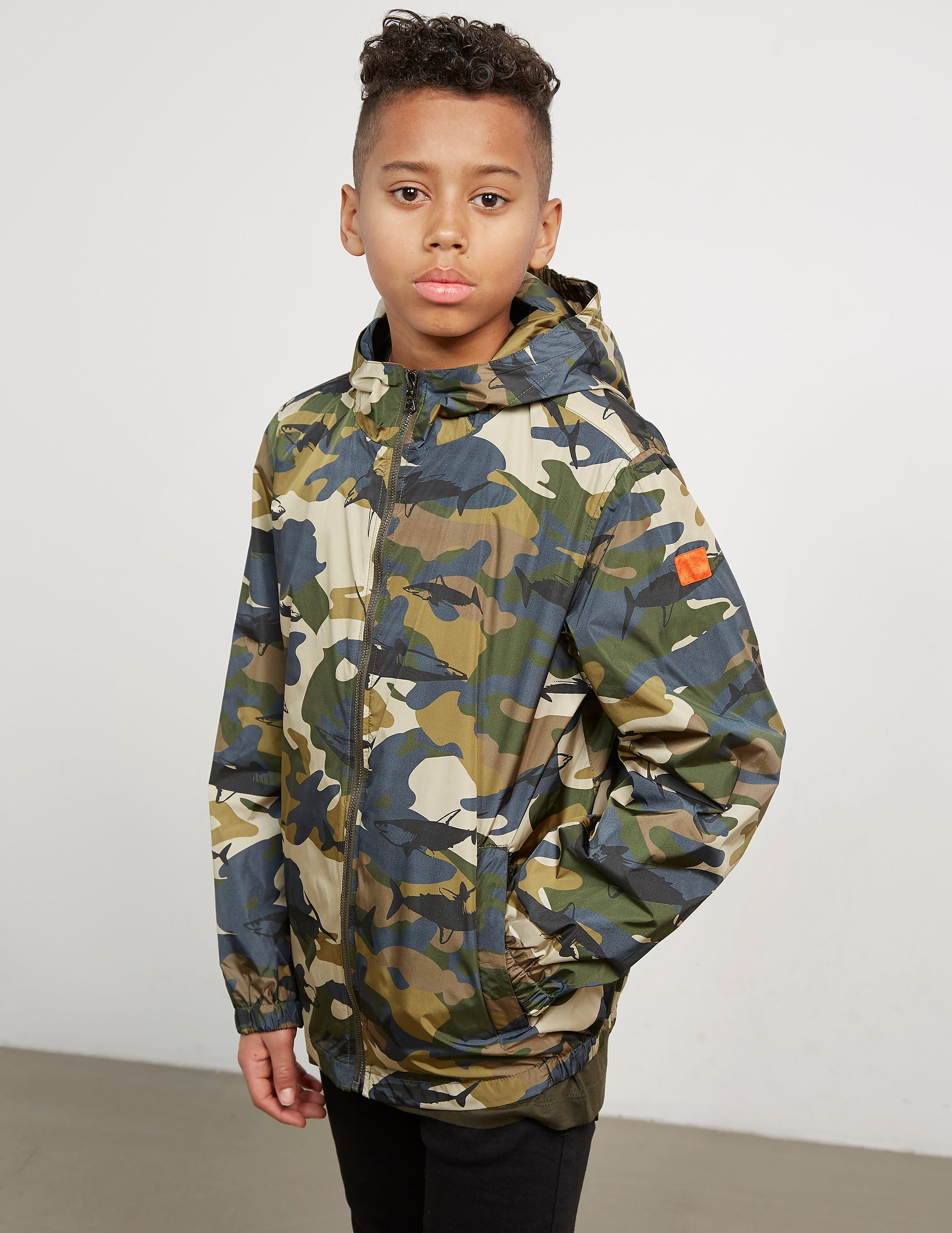 Paul and Shark Camo Lightweight Jacket