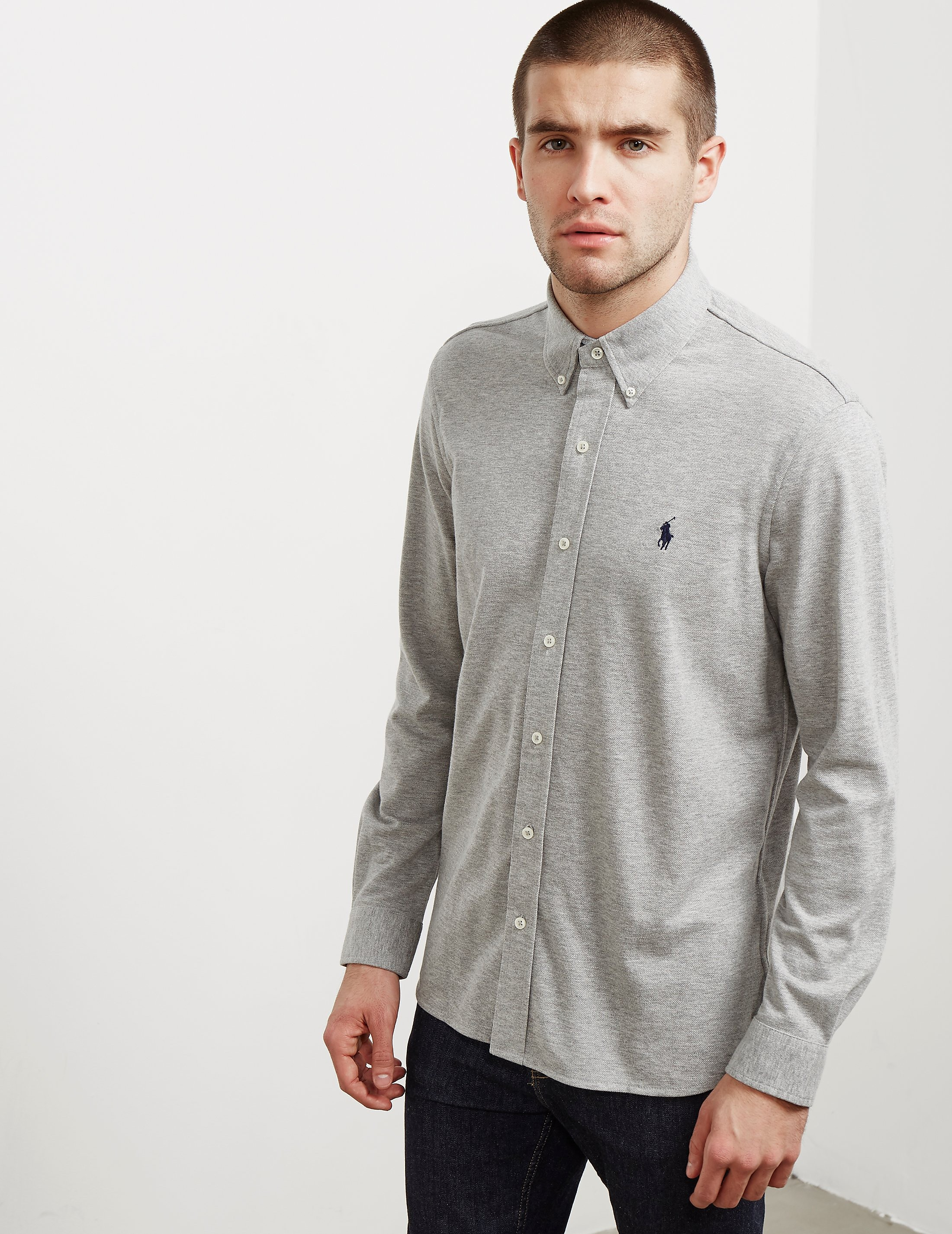 Polo Ralph Lauren Mesh Long Sleeve Shirt