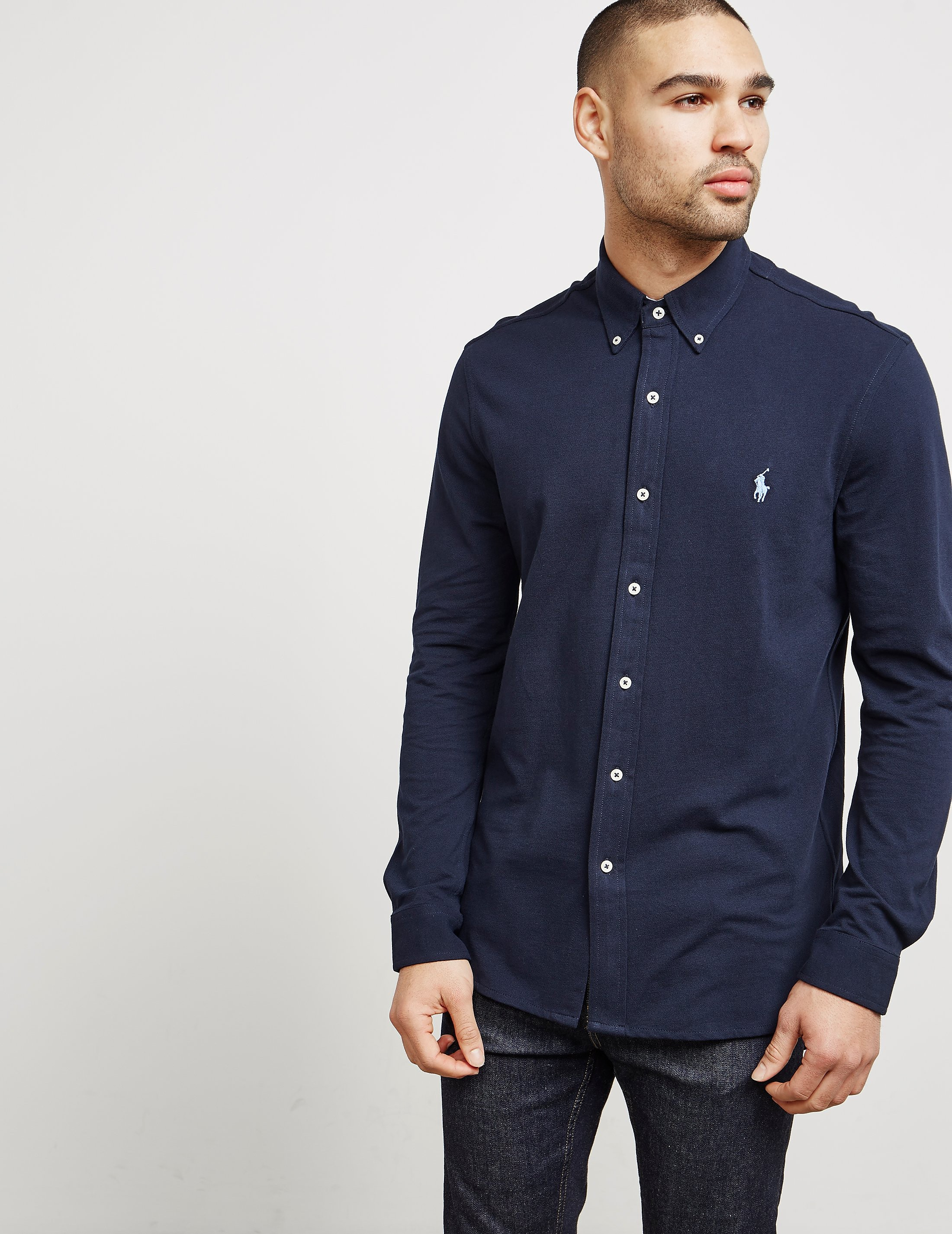 Polo Ralph Lauren Featherweight Mesh Long Sleeve Shirt