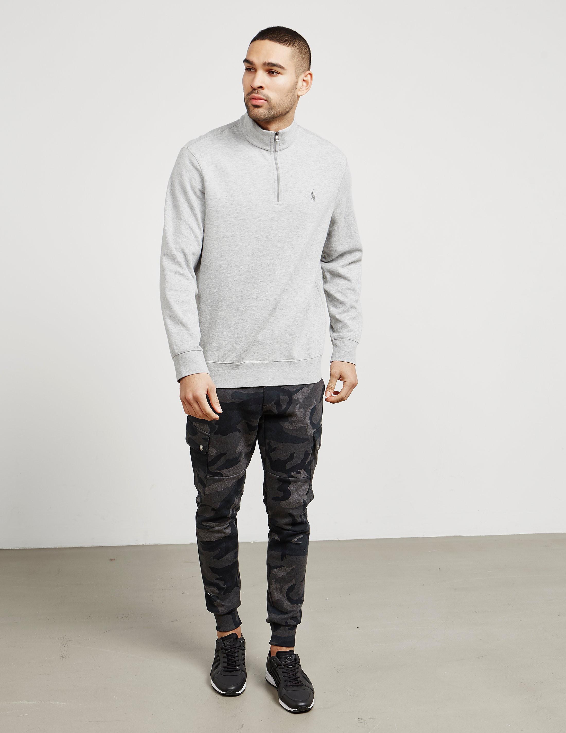 Polo Ralph Lauren Jersey Half Zip Sweatshirt