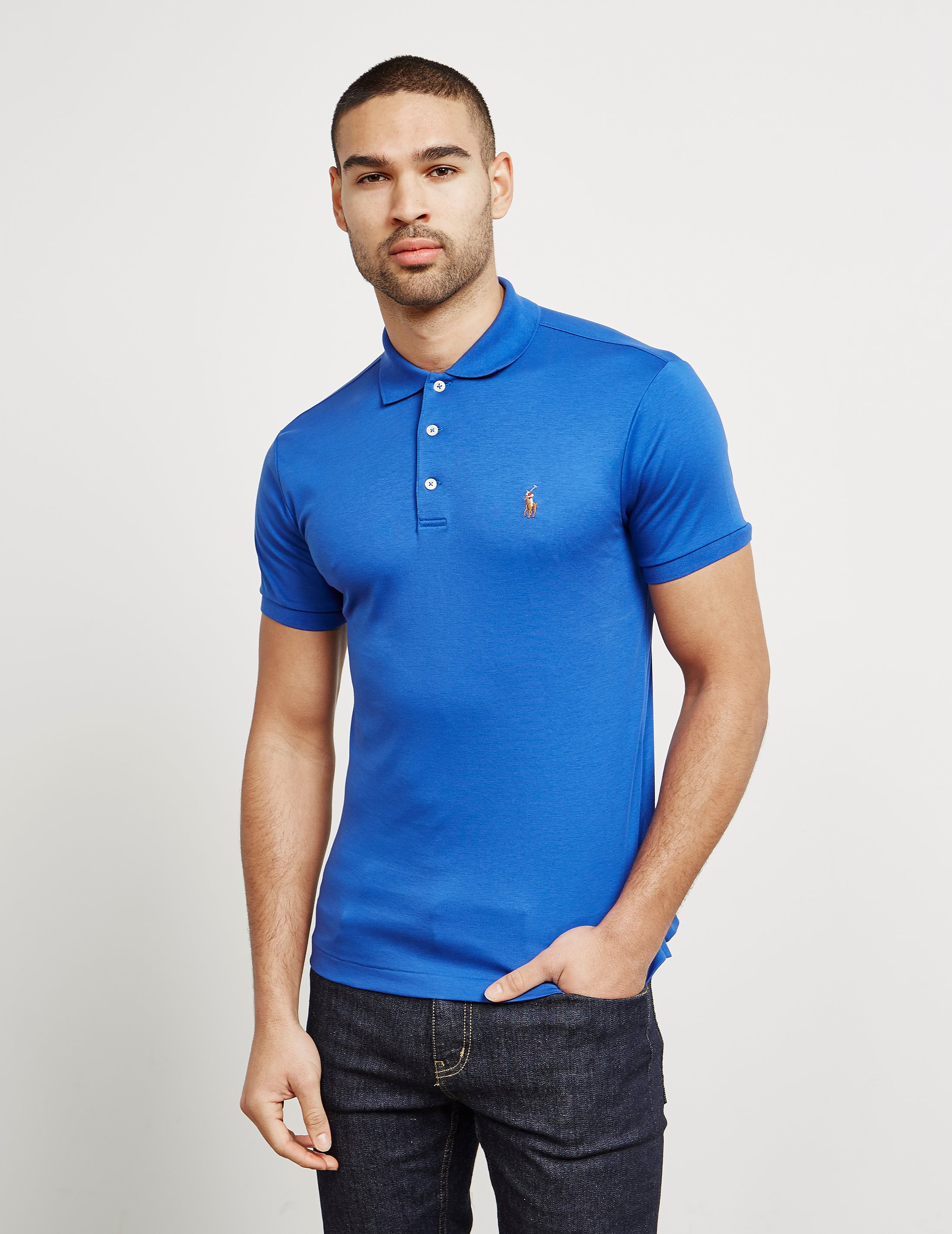 Polo Ralph Lauren Pima Short Sleeve Polo Shirt