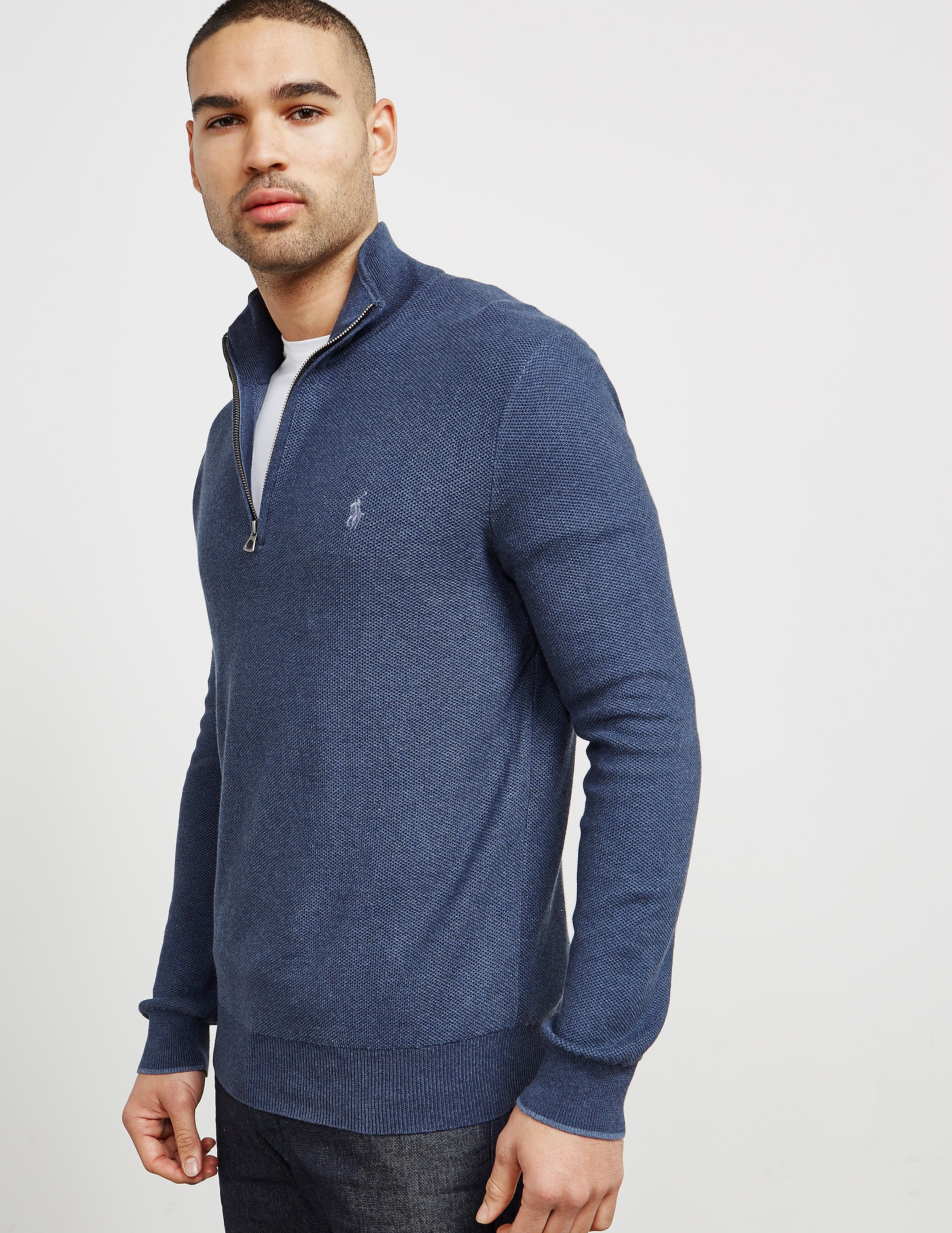 Polo Ralph Lauren Half Zip Knitted Jumper