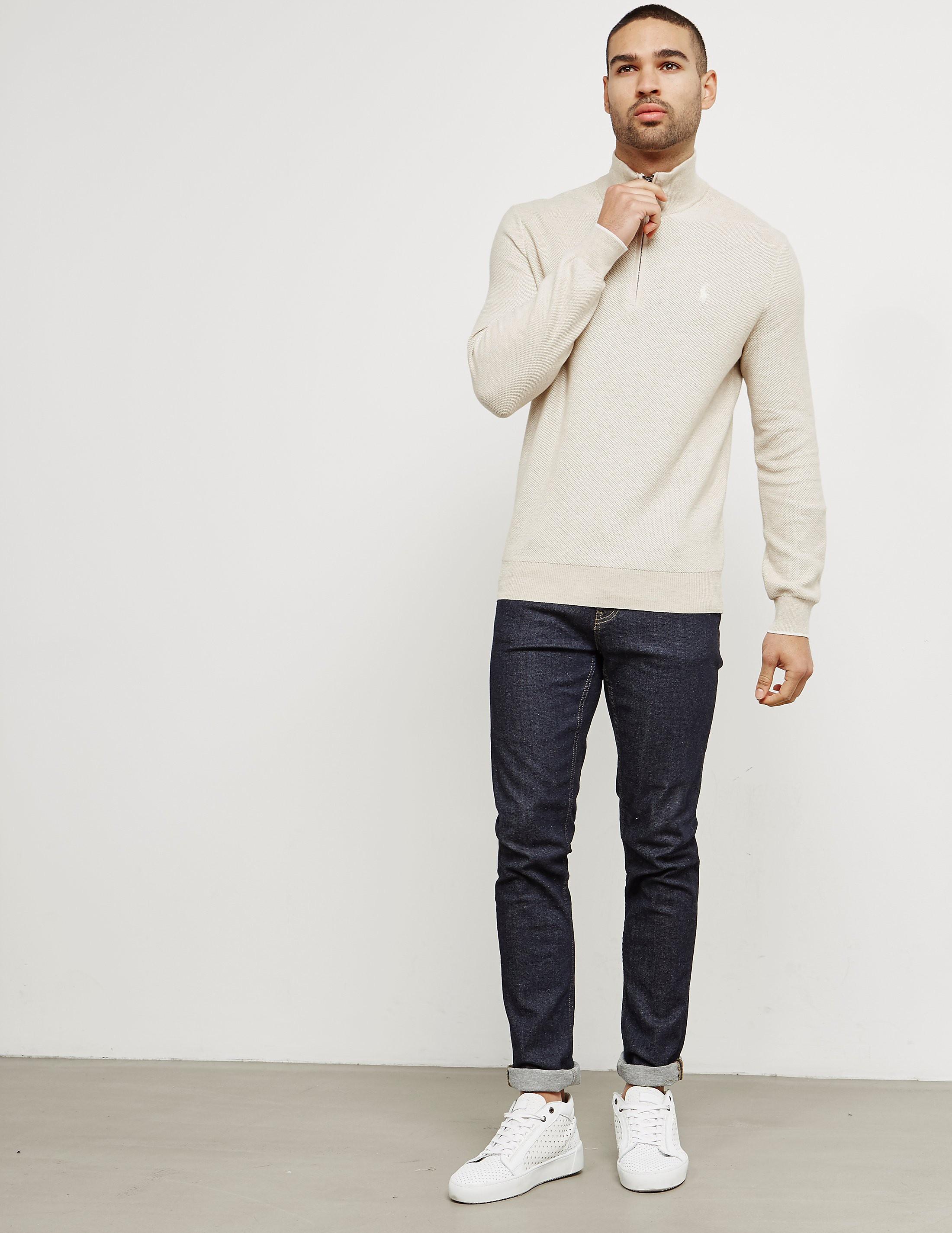 Polo Ralph Lauren Pima Half-Zip Knitted Jumper