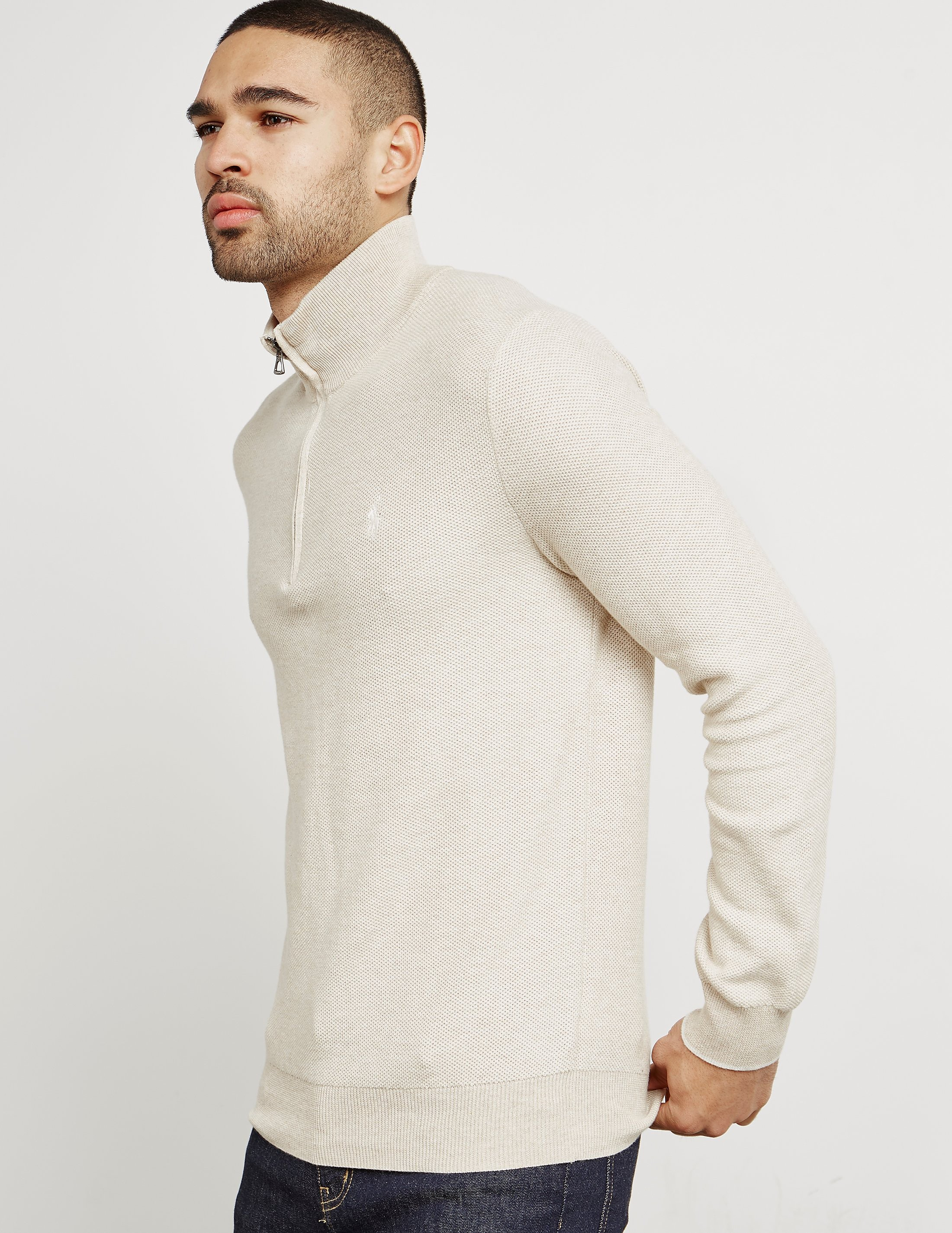 Polo Ralph Lauren Pima Half-Zip Knitted Jumper