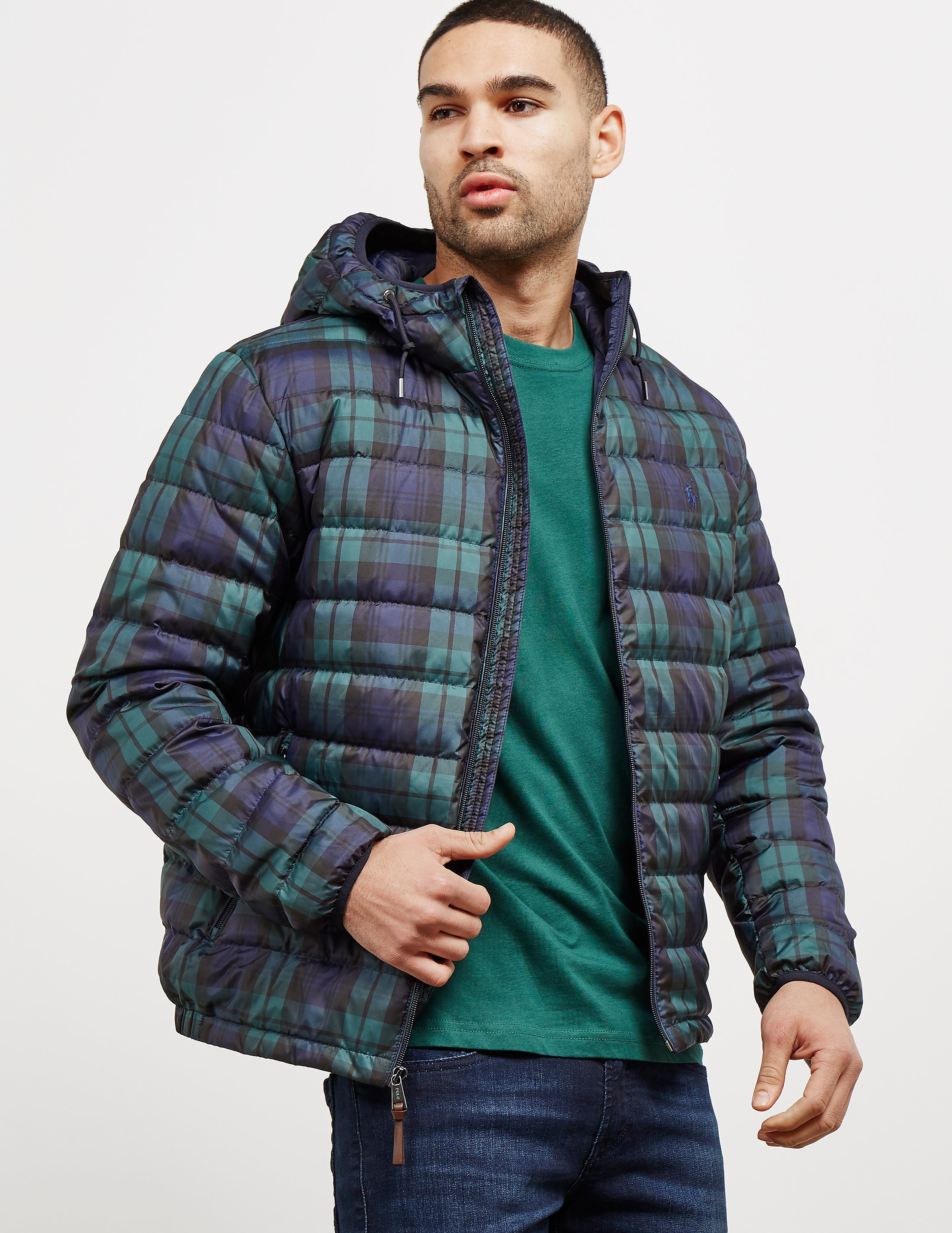 Polo Ralph Lauren Down Padded Plaid Jacket