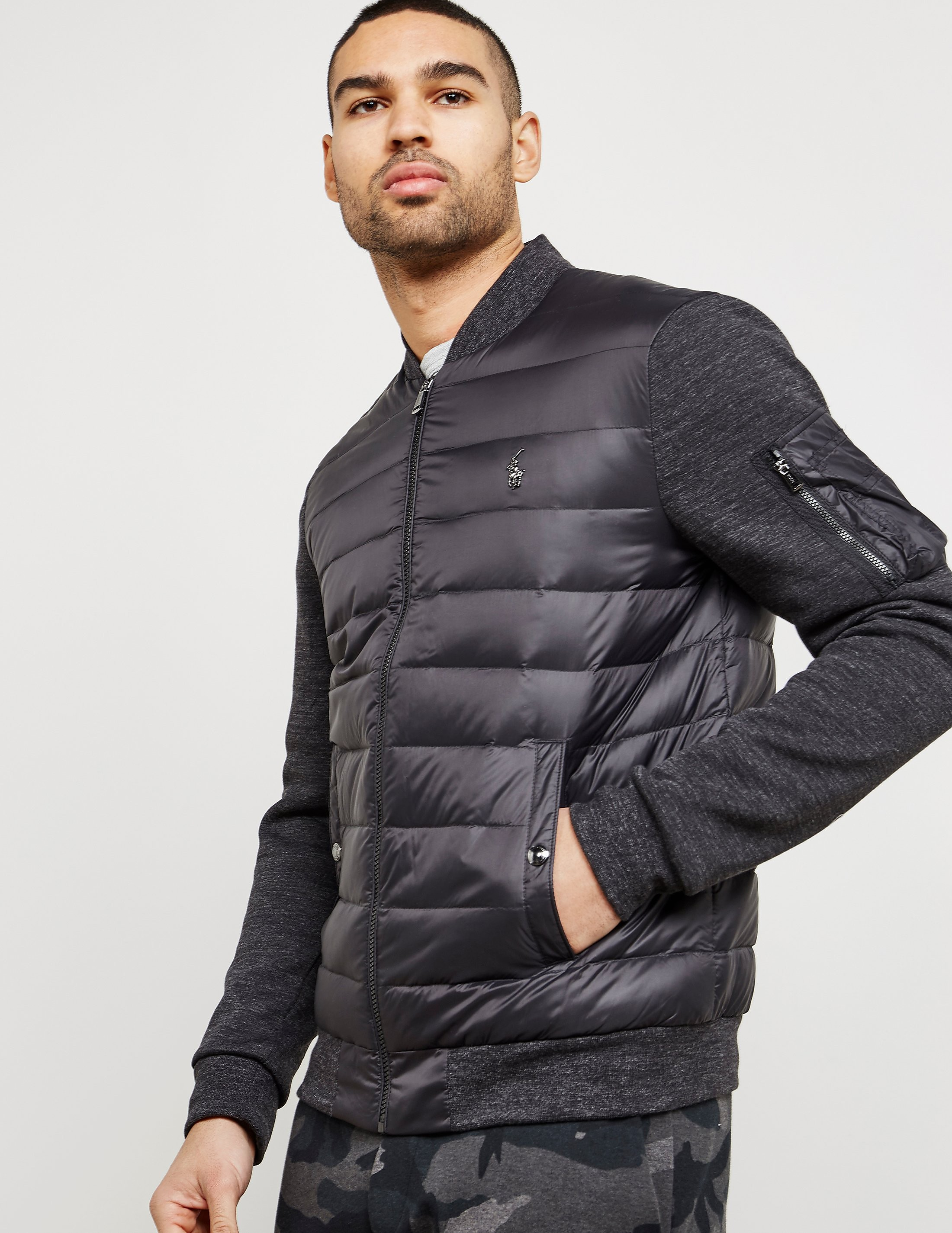 Polo Ralph Lauren Hybrid Bomber Padded Jacket