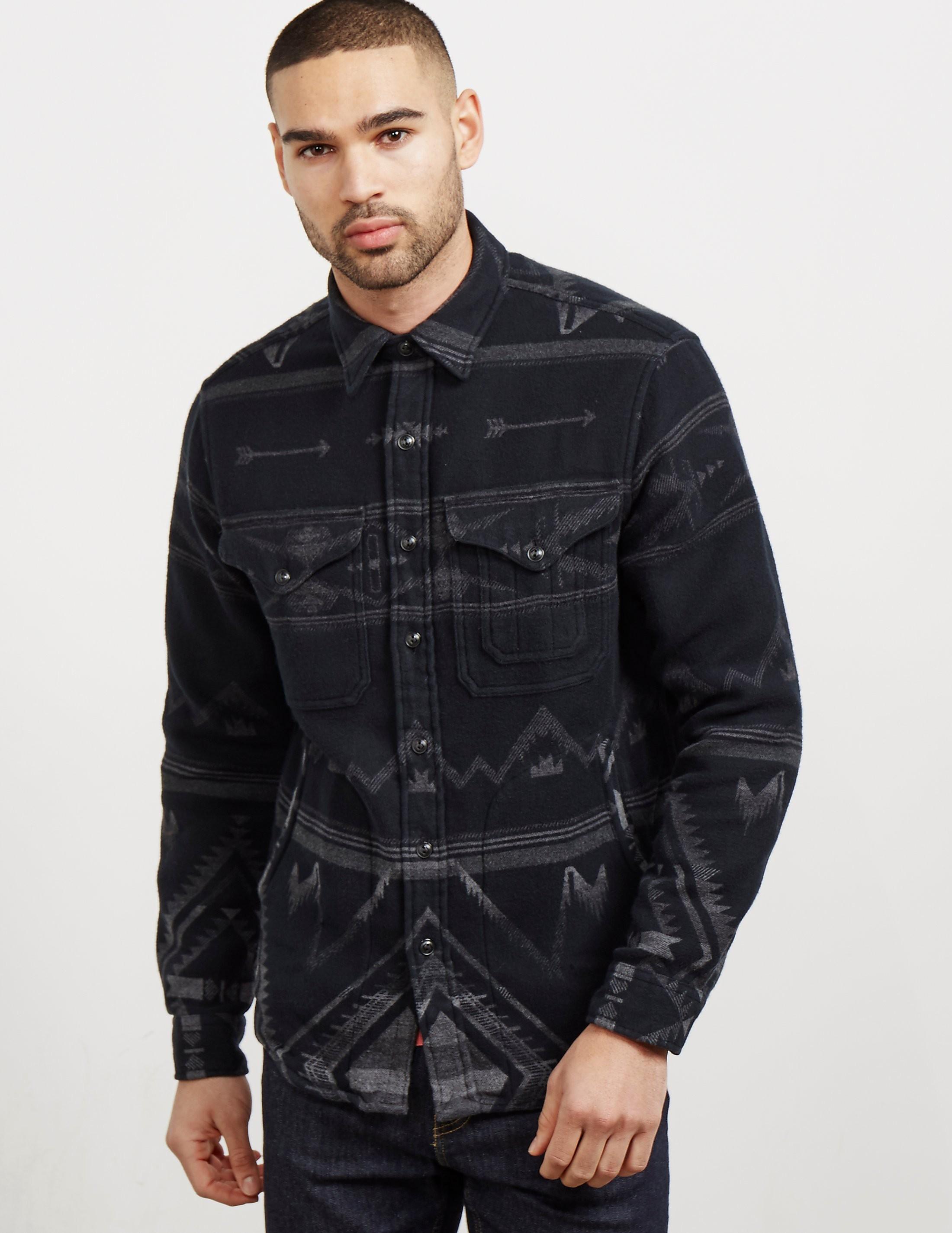 Polo Ralph Lauren Jaquard Long Sleeve Overshirt