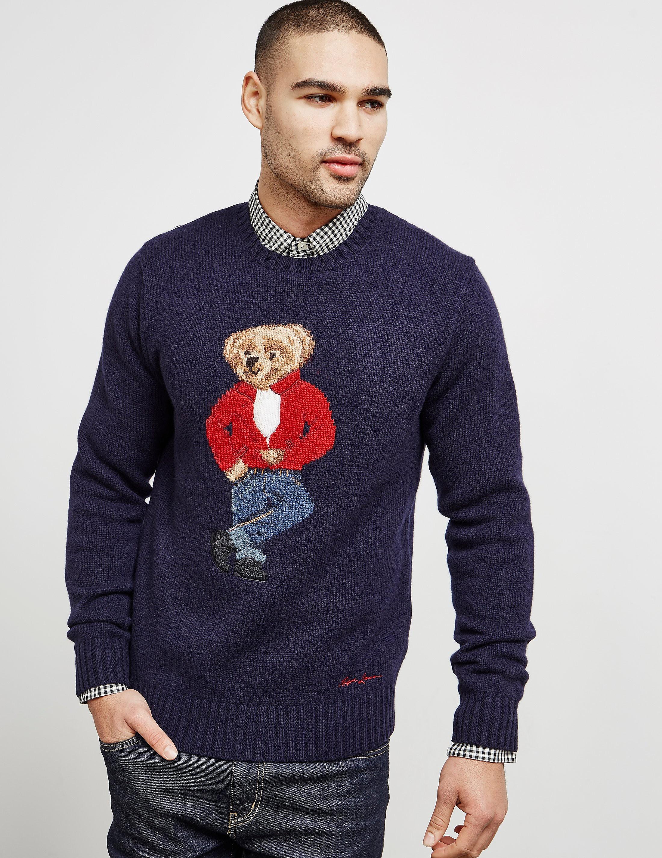 Polo Ralph Lauren Bear Knit Jumper