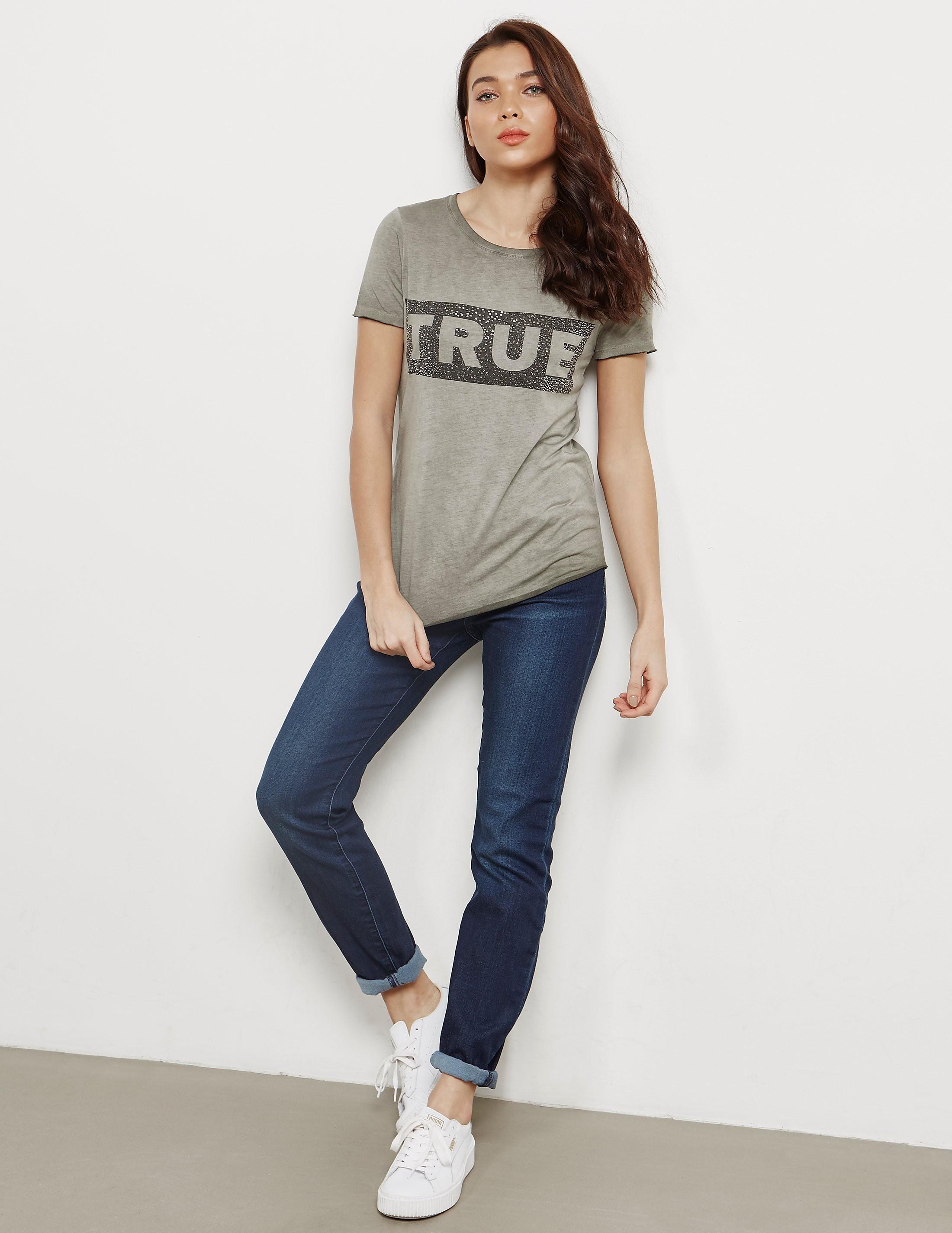 True Religion Box Logo Short Sleeve T-Shirt