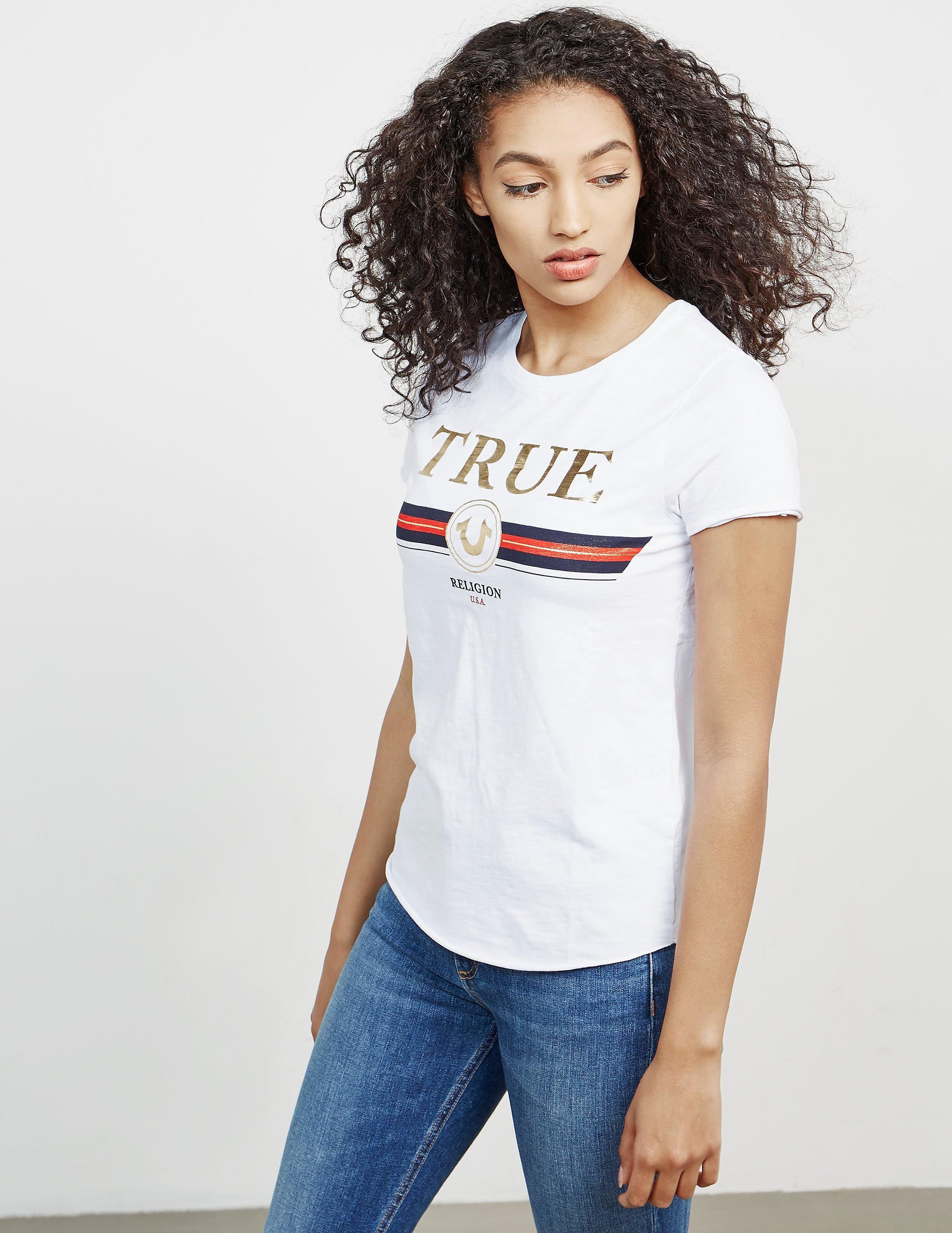 True Religion Artwork Short Sleeve T-Shirt