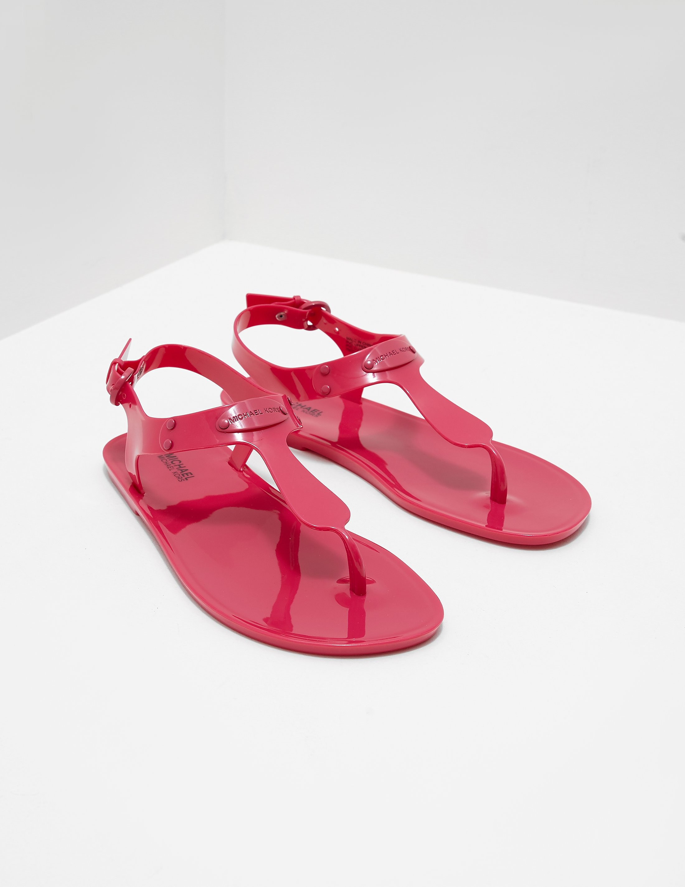 Michael Kors Jelly Plate Sandals